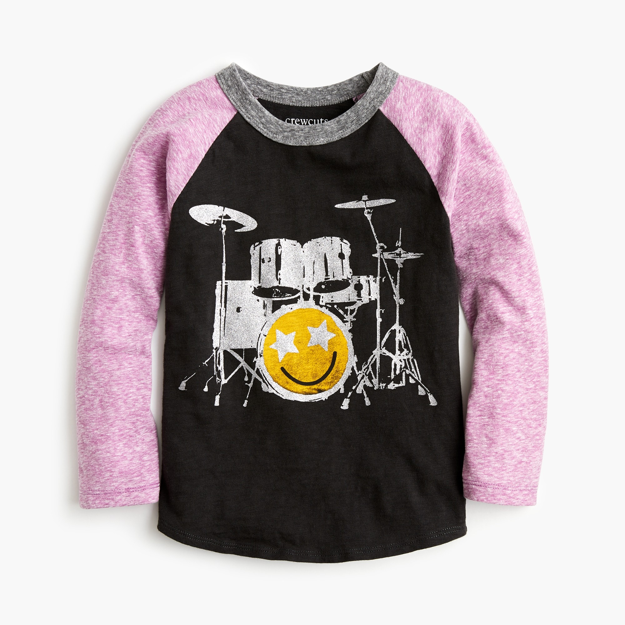 "Girls' ""band practice"" baseball T-shirt"