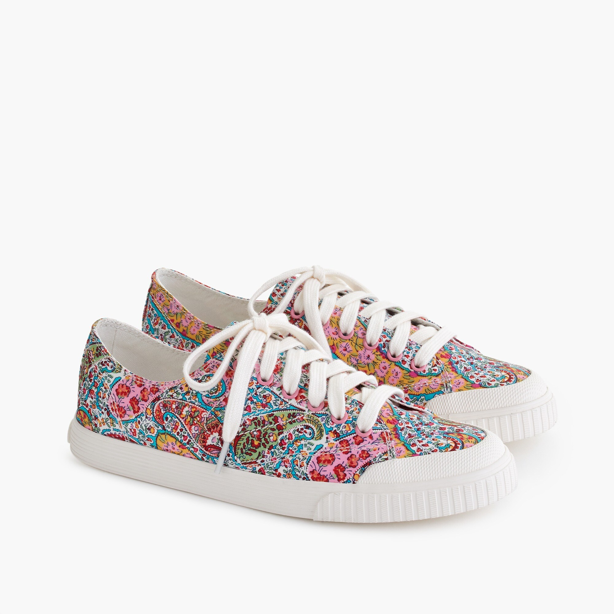 womens Women's Tretorn® Marley canvas sneakers in Liberty floral