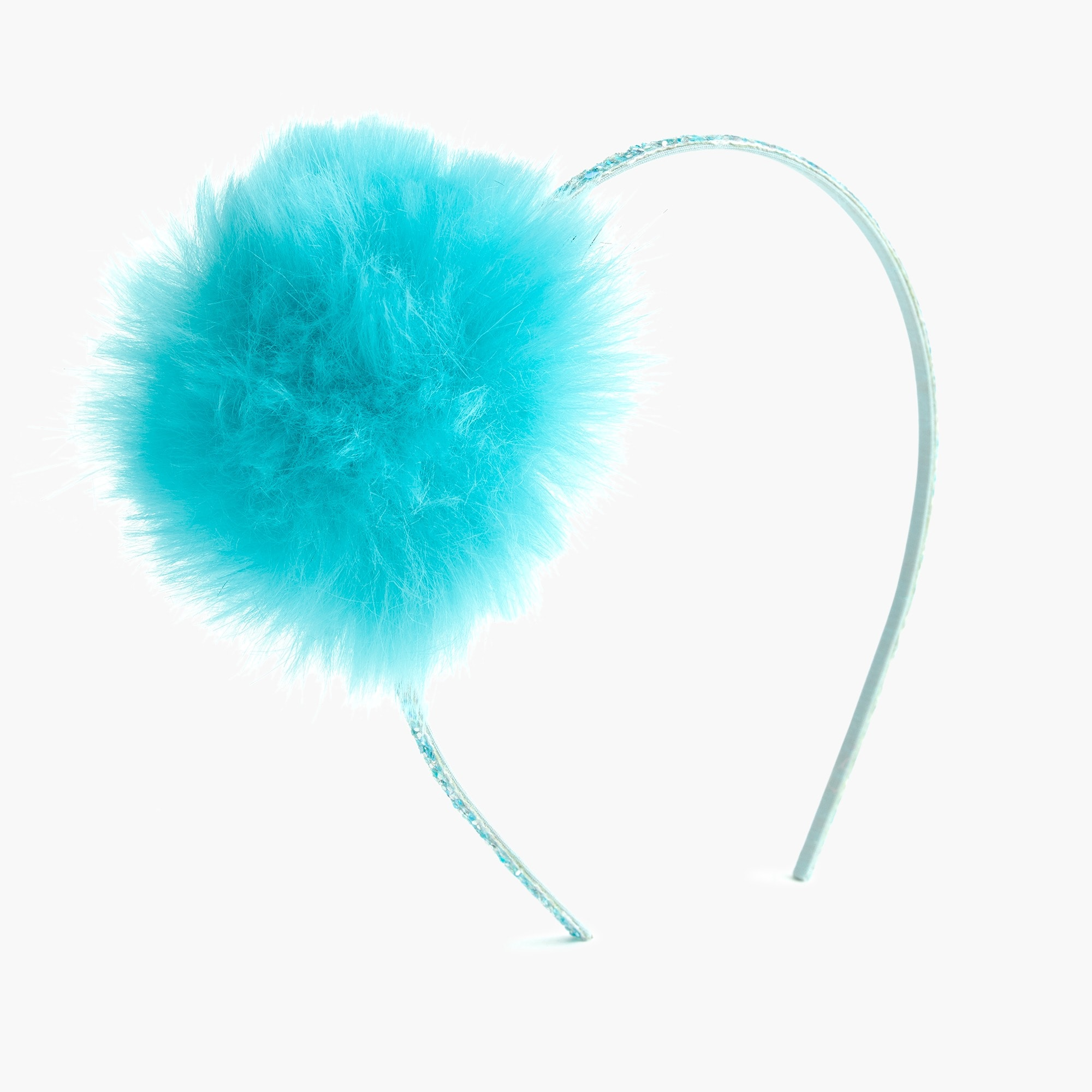 girls Girls' pom-pom headband