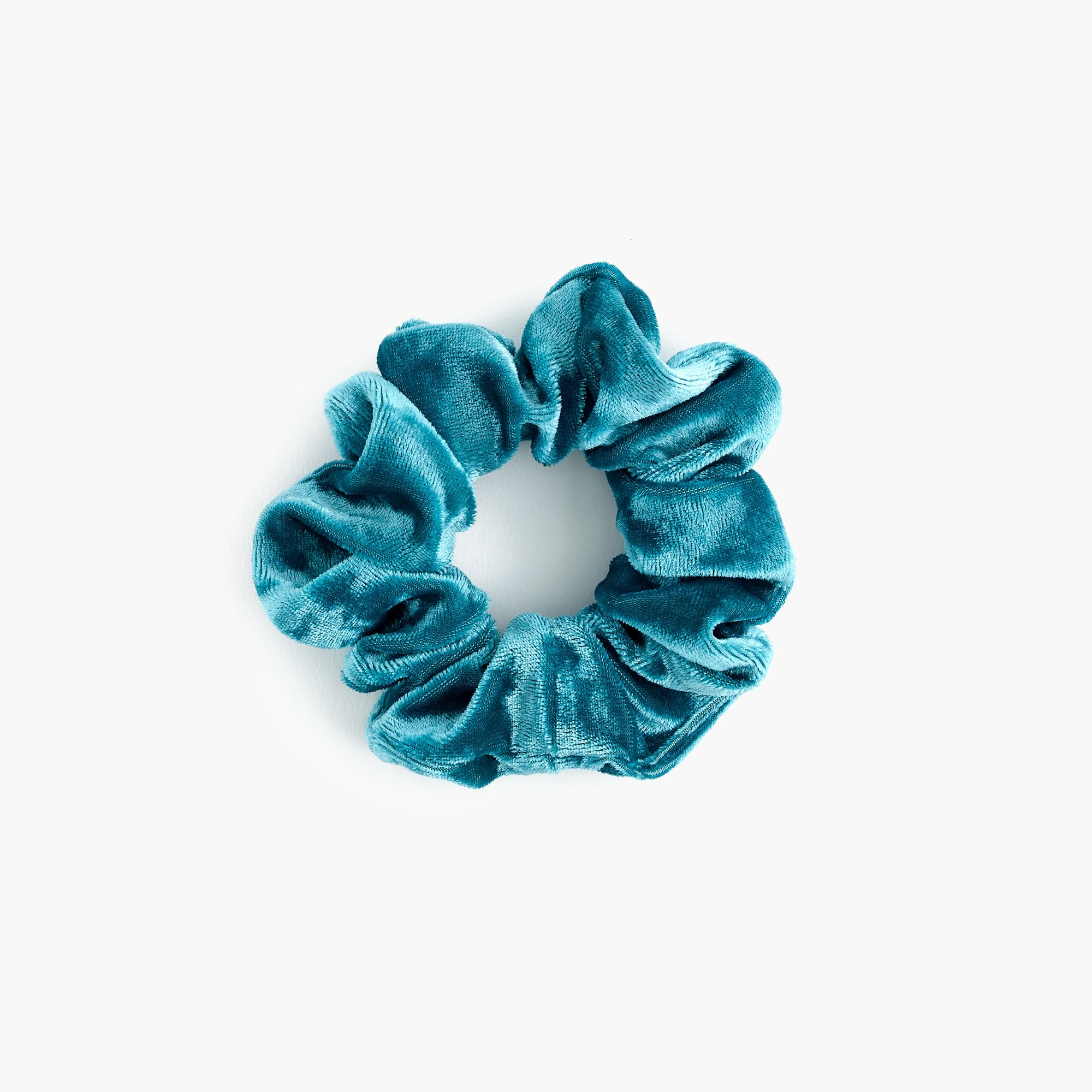 Image 1 for Girls' crushed velvet scrunchie
