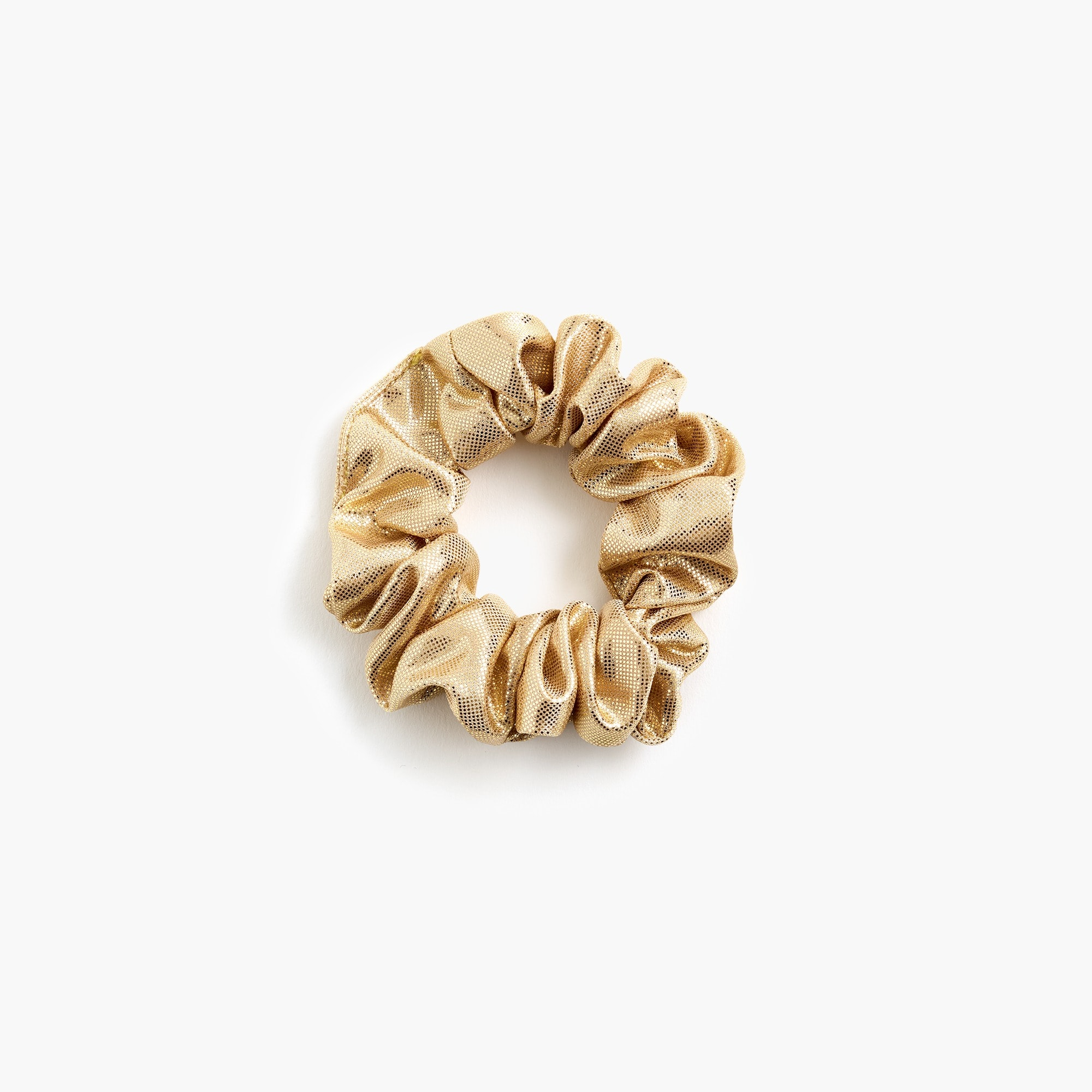 girls Girls' metallic scrunchie