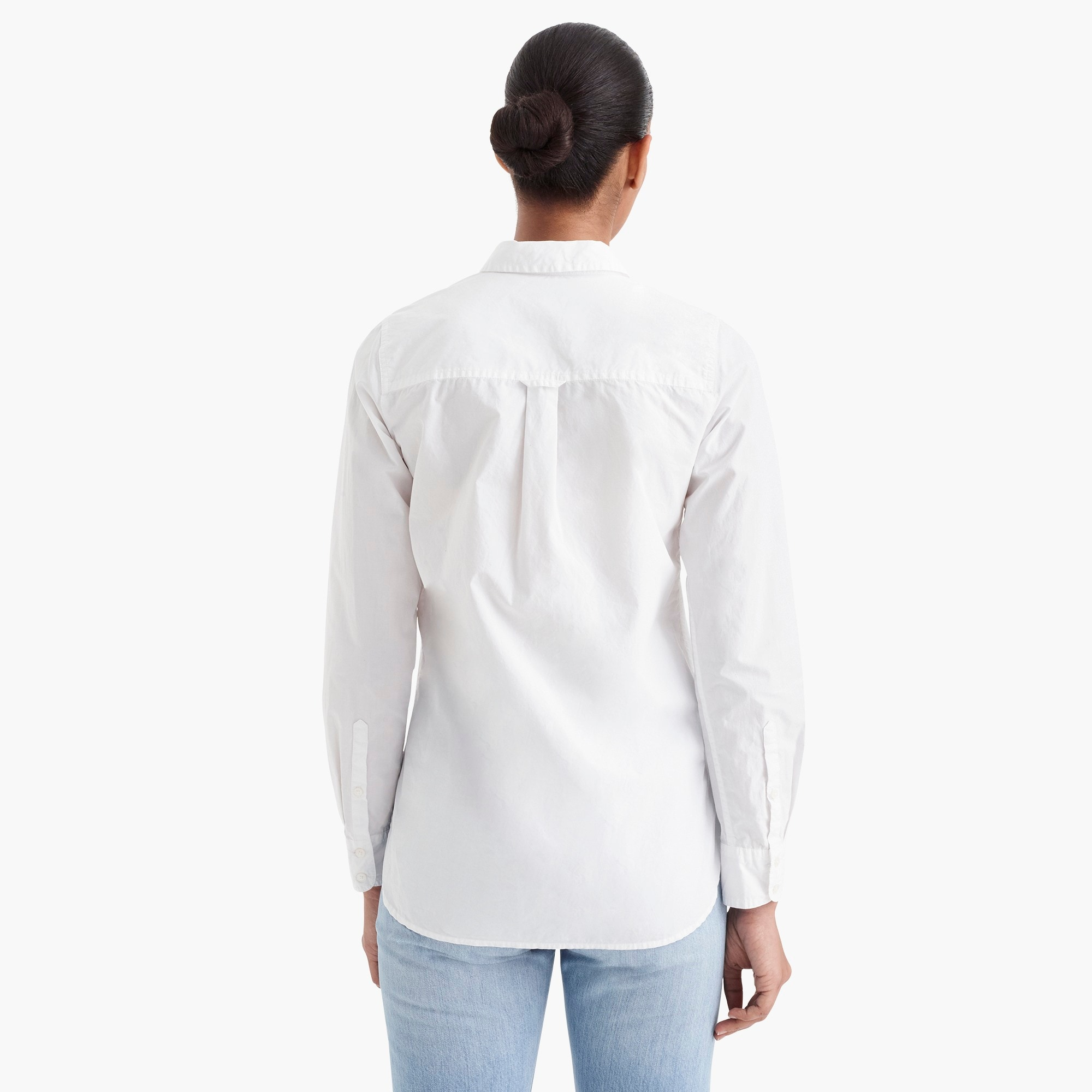 Image 5 for Tall classic-fit boy shirt in cotton poplin