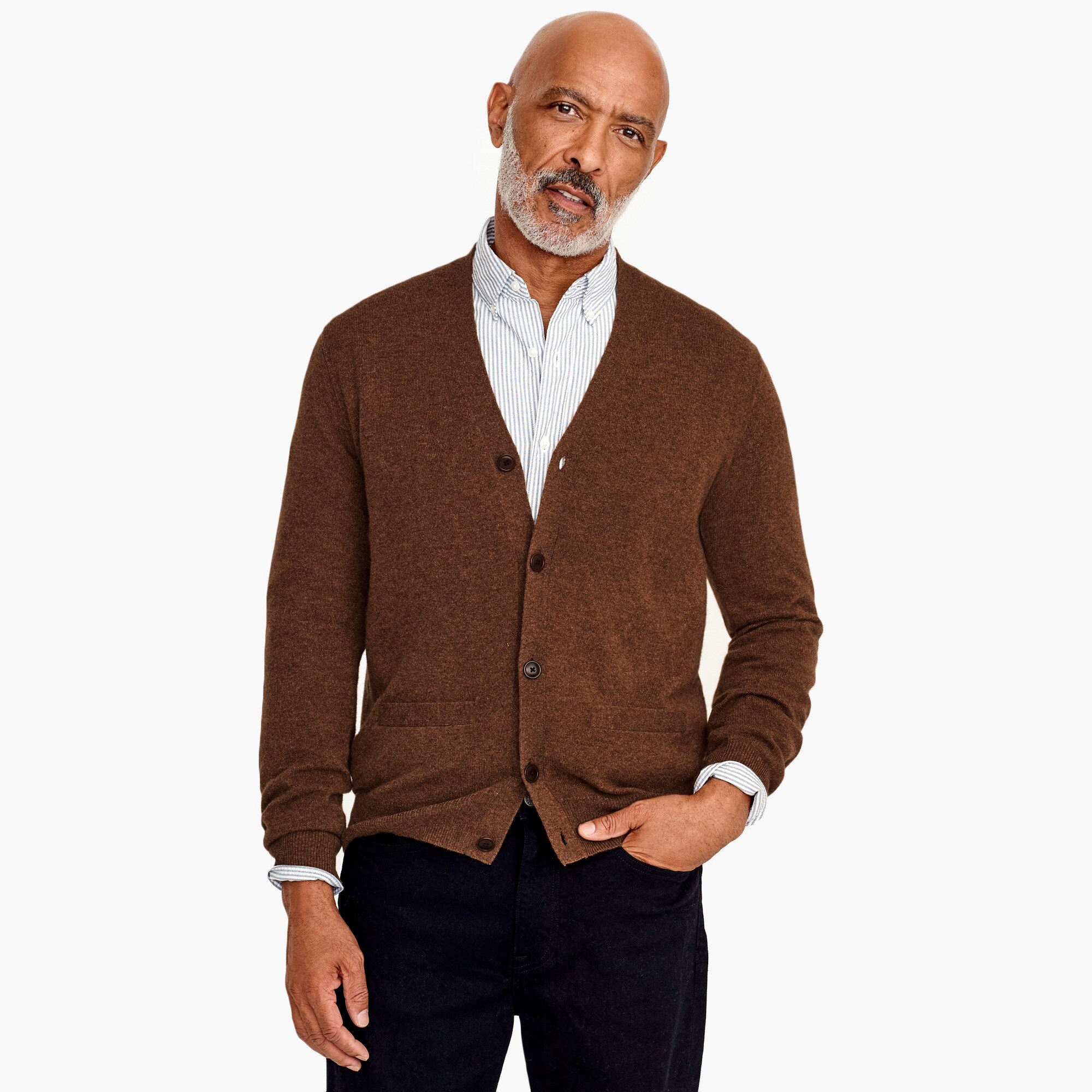 mens Everyday cashmere cardigan