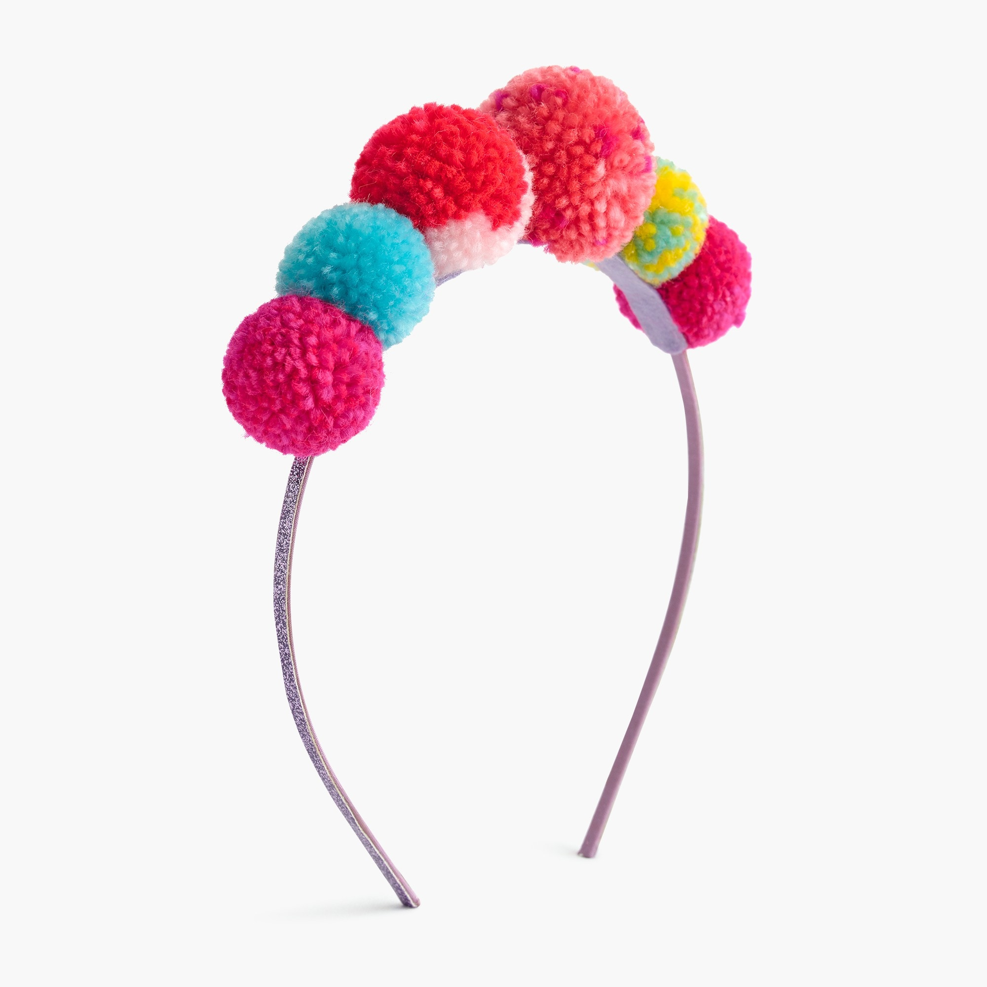 girls' pom-pom cluster headband - girls' accessories