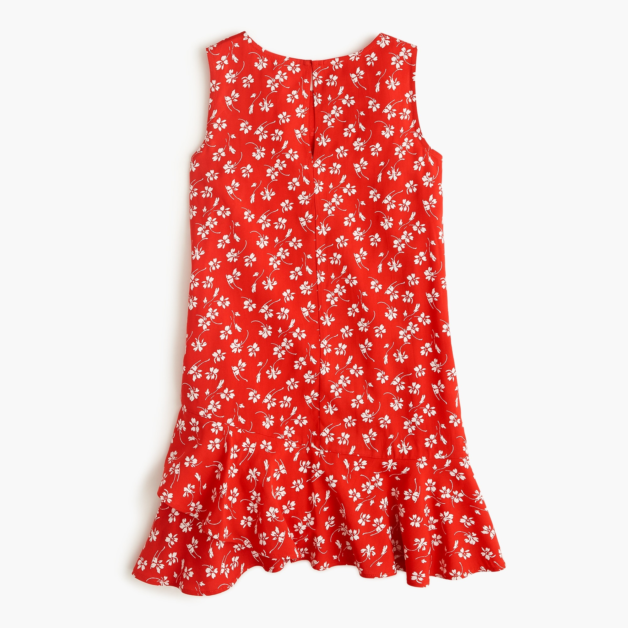 Image 2 for Girls' ruffle-hem dress in fresh daisies
