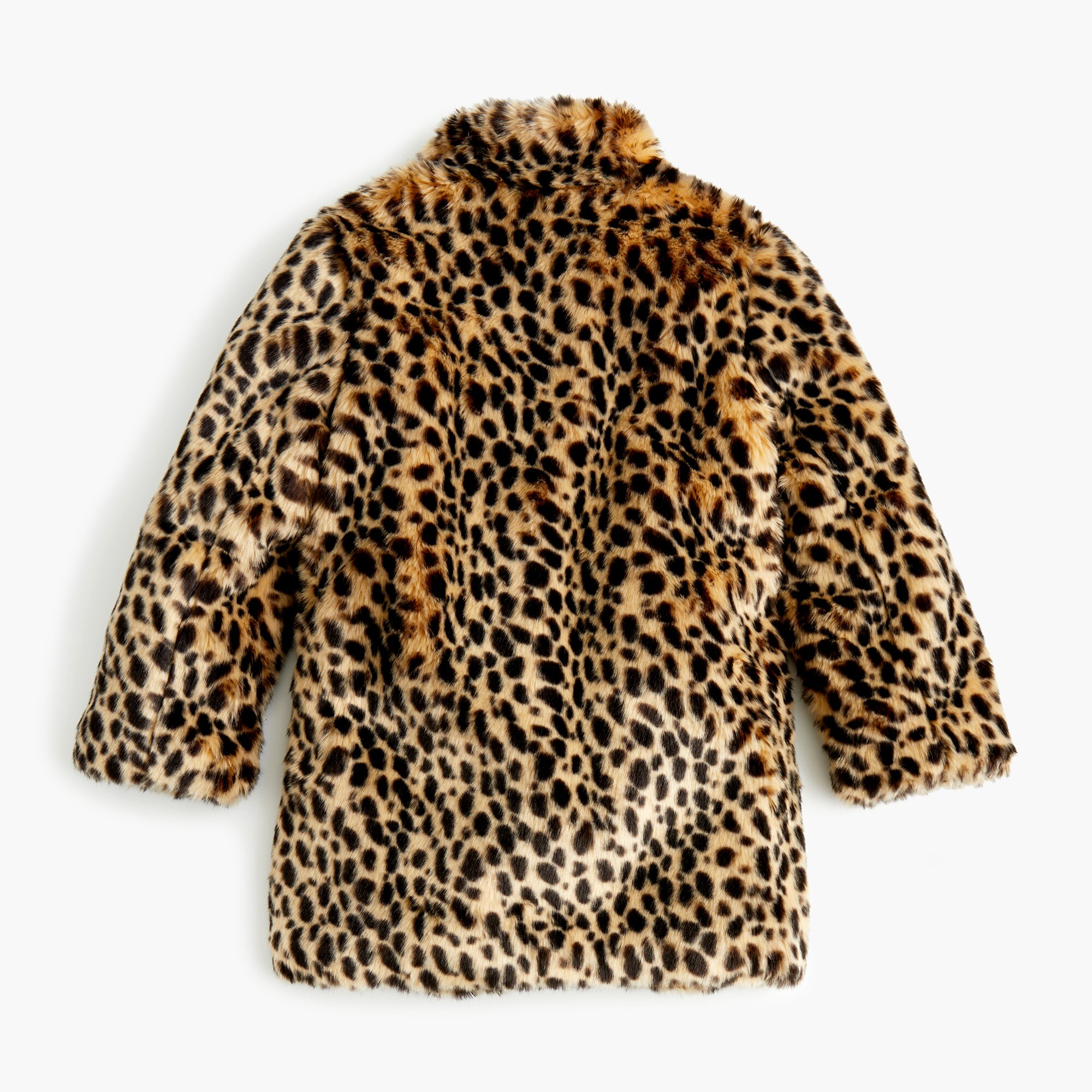 girls' faux-fur coat in savannah cat : girl novelty coats