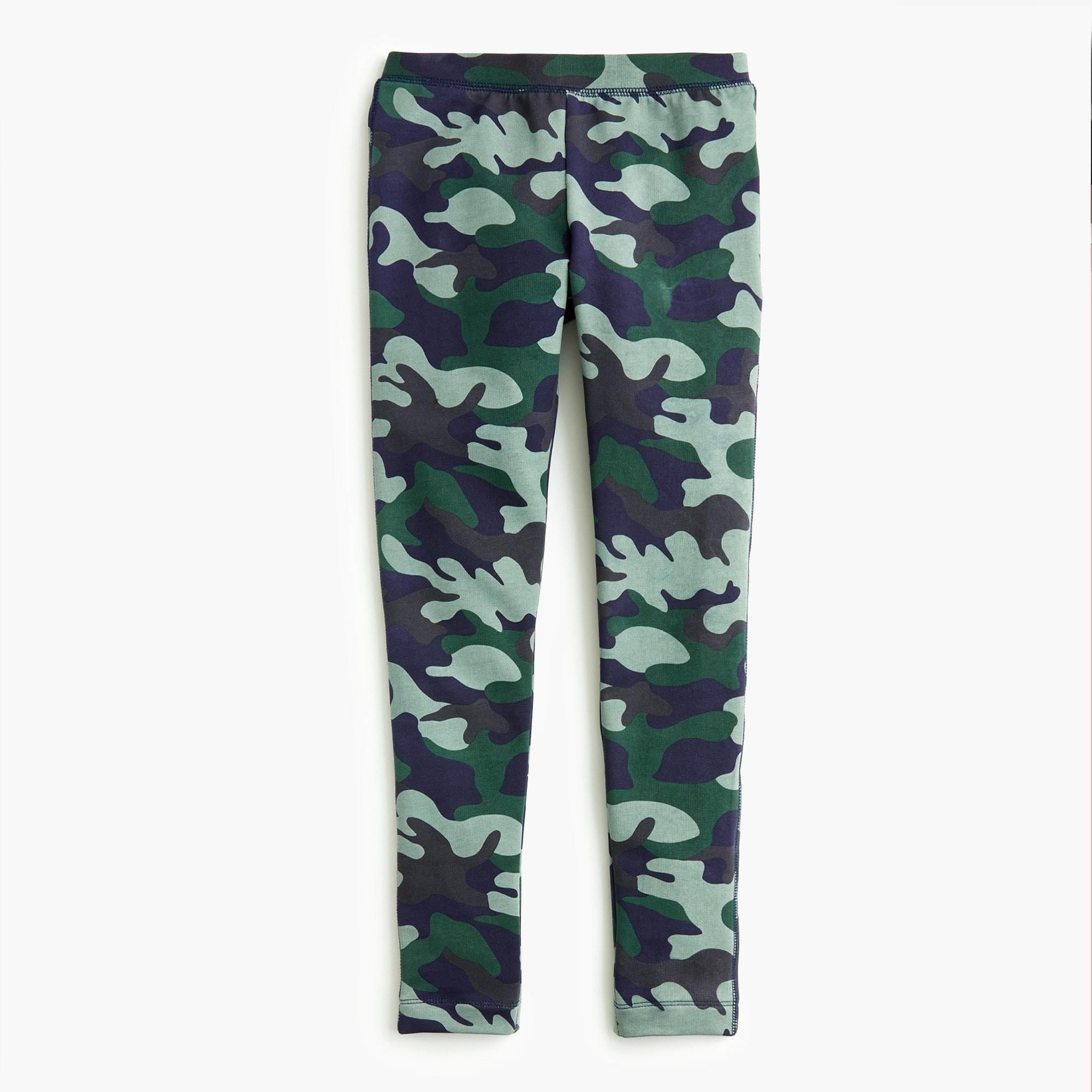 Image 2 for Girls' cozy everyday leggings in camo