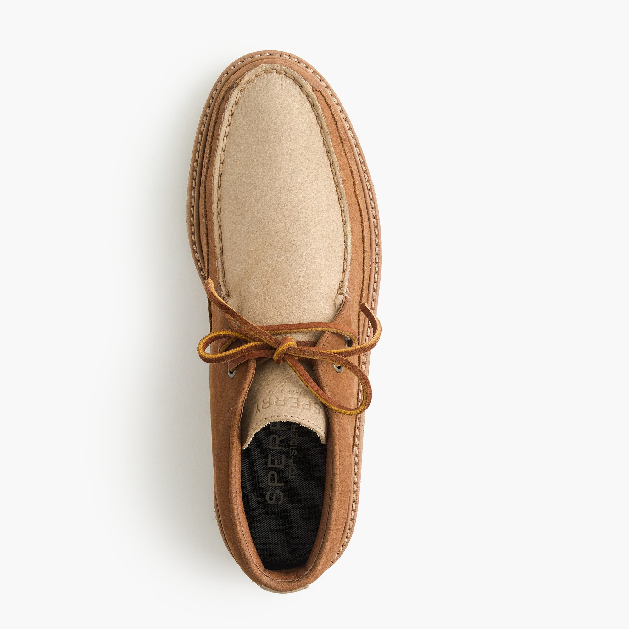 men's sperry® for j.crew crepe soled leather chukka boots - men's footwear
