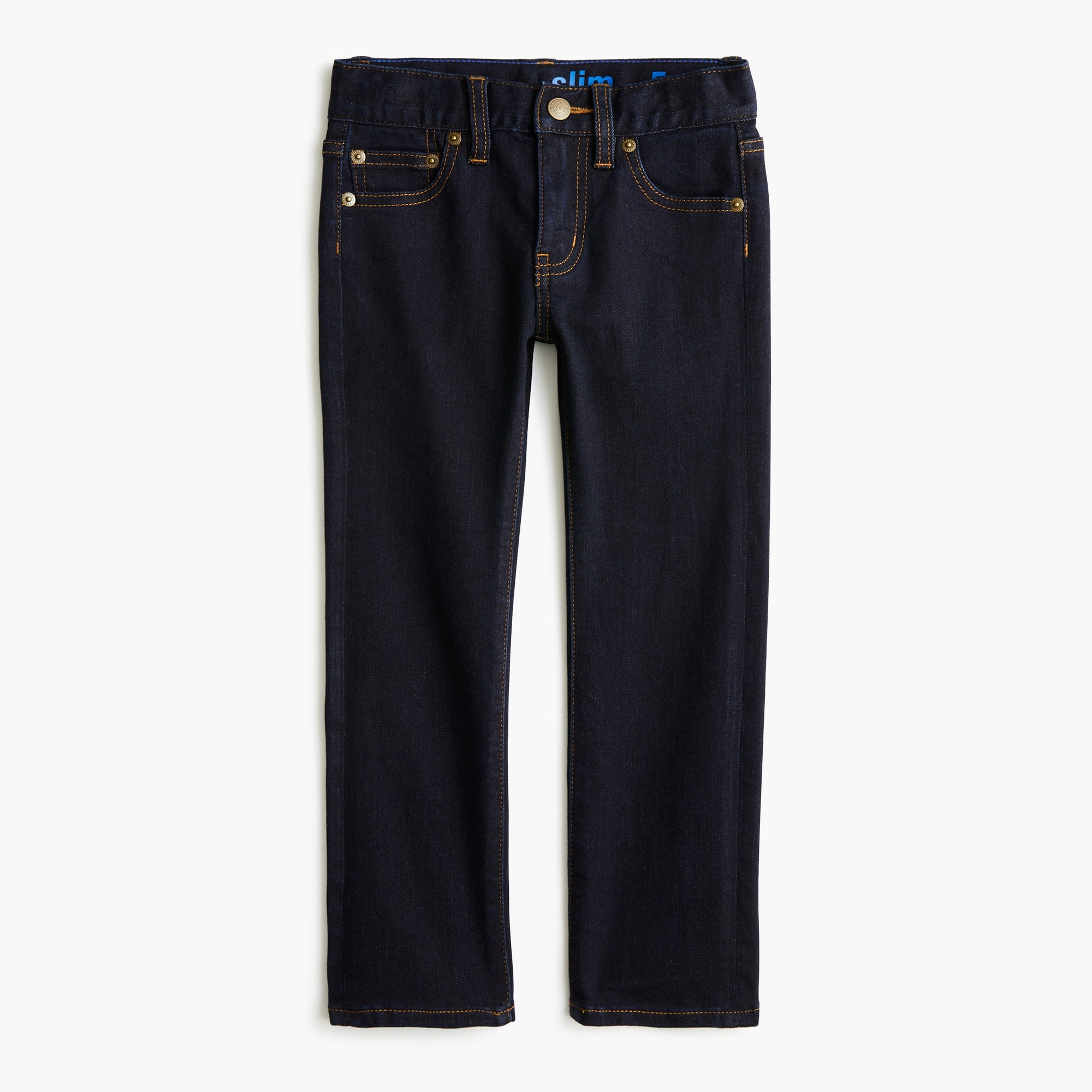Image 2 for Boys' rinse wash runaround jean in slim fit
