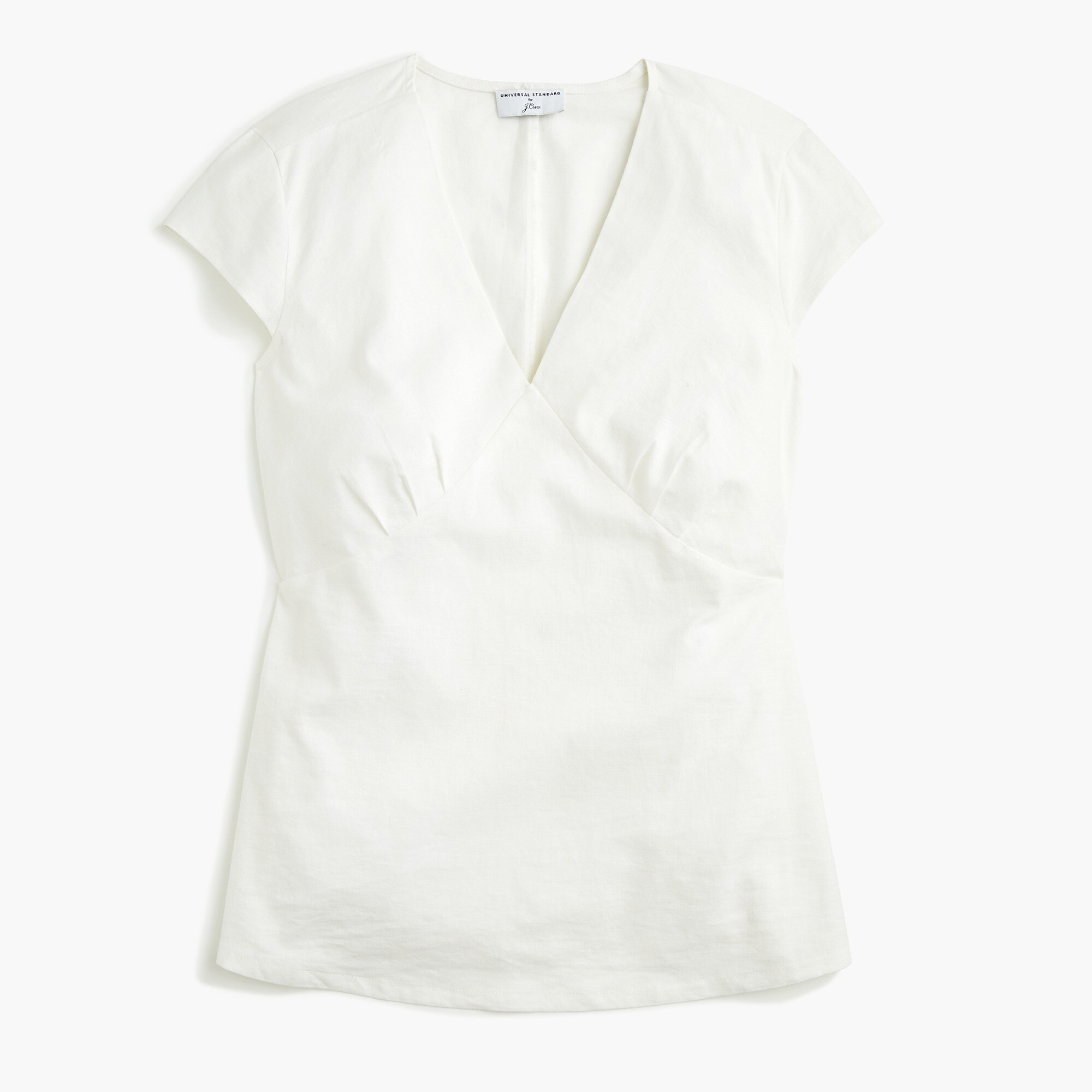 Image 2 for Universal Standard for J.Crew linen V-neck top