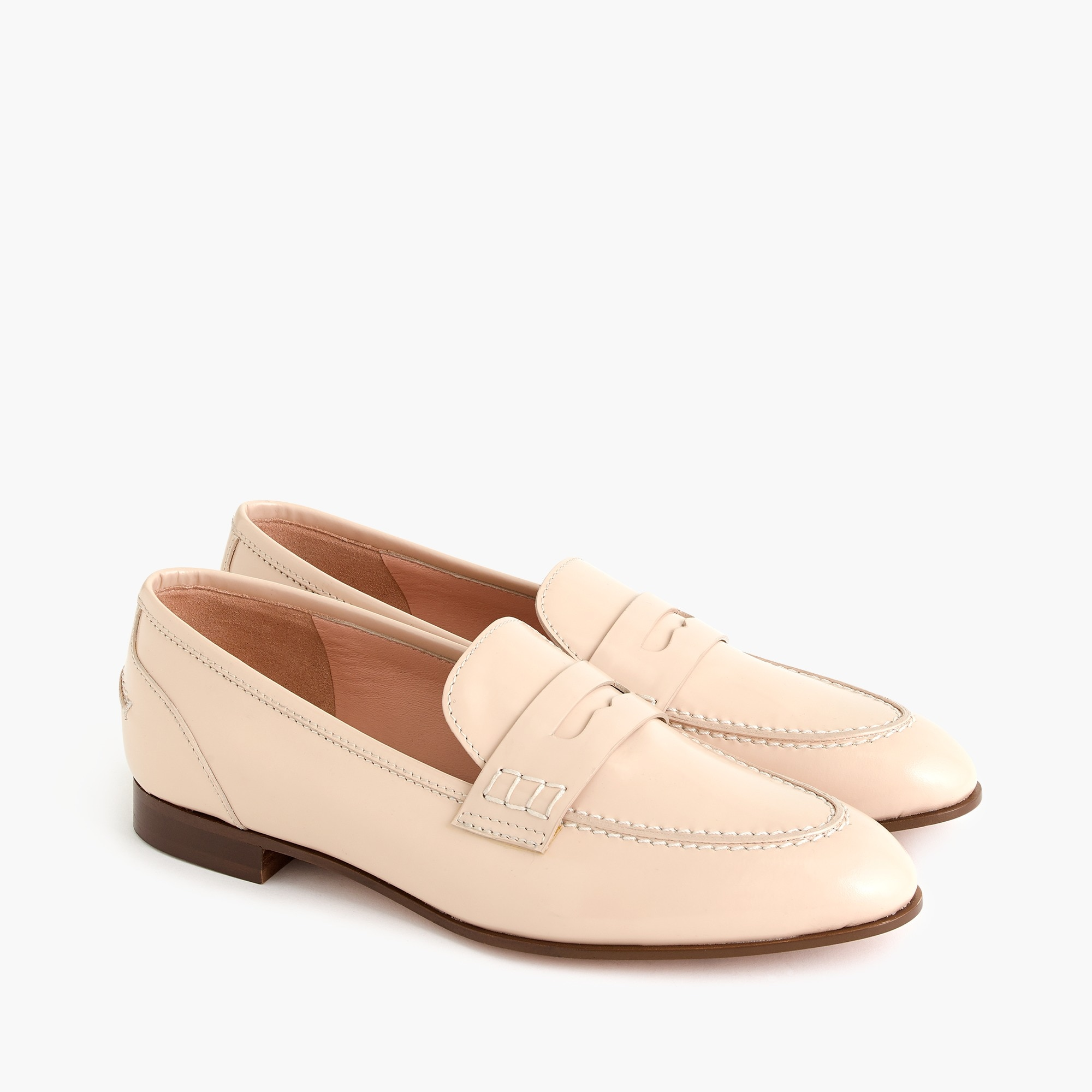 womens Academy penny loafers
