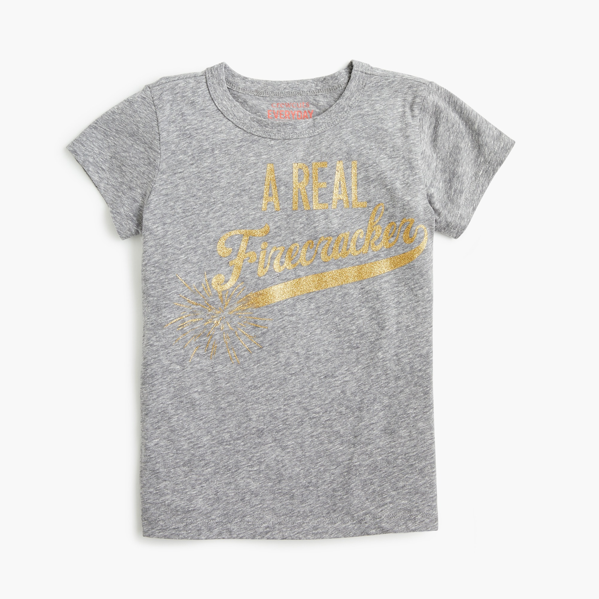 "girls Girls' ""a real firecracker"" T-shirt"