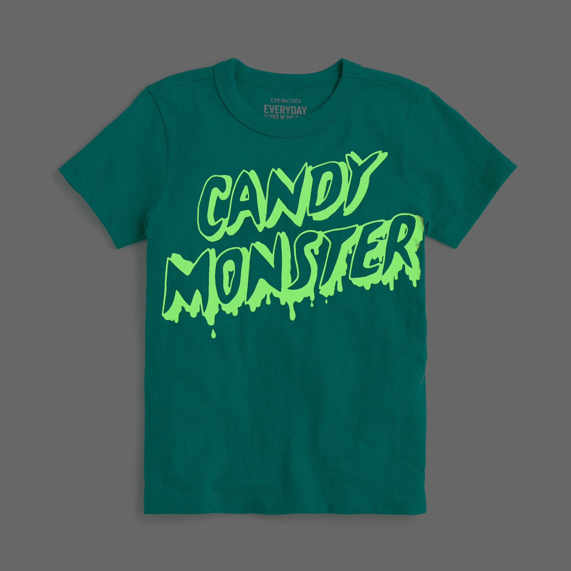 "Image 1 for Boys' glow-in-the-dark ""candy monster"" T-shirt"