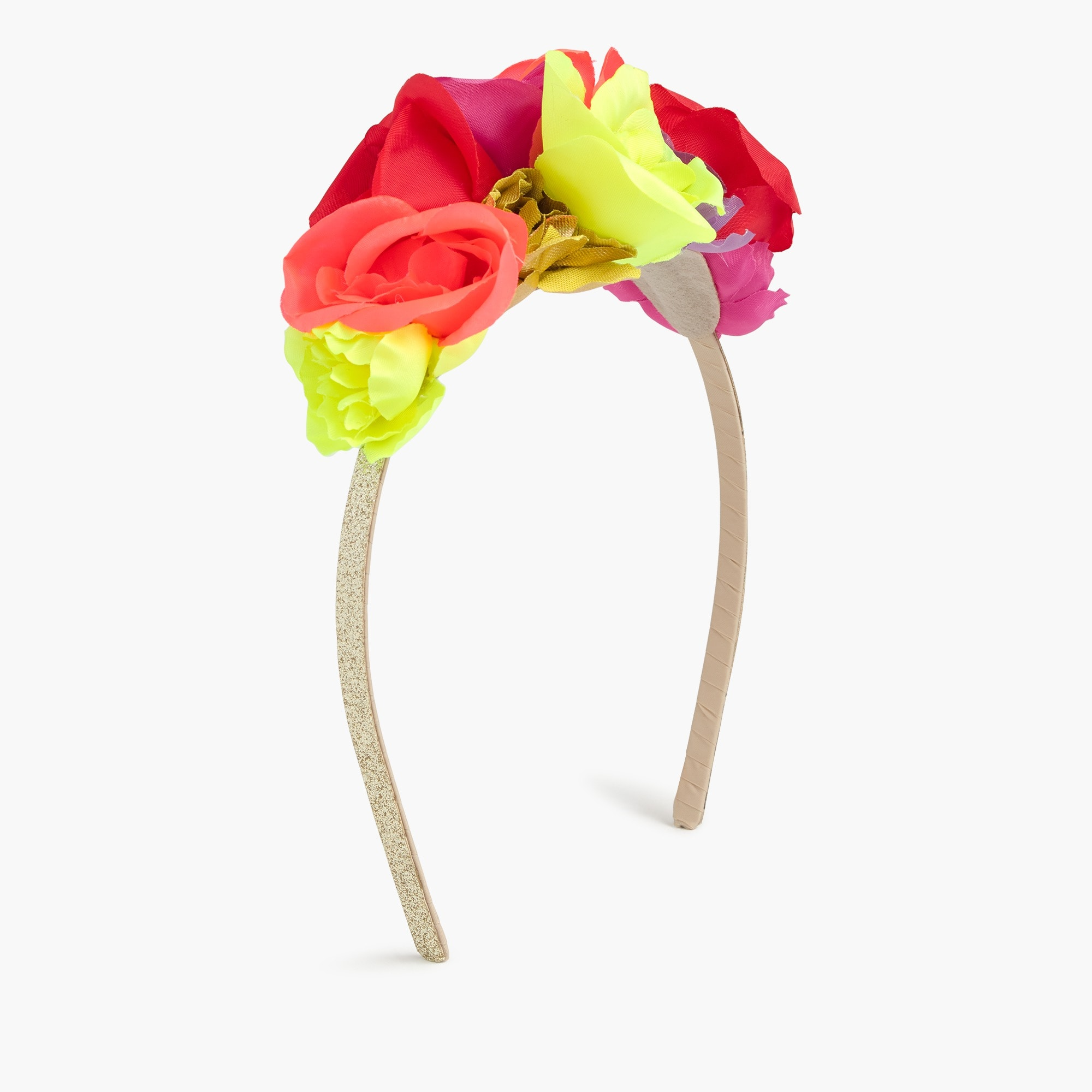 girls' bouquet headband : girl hair accessories