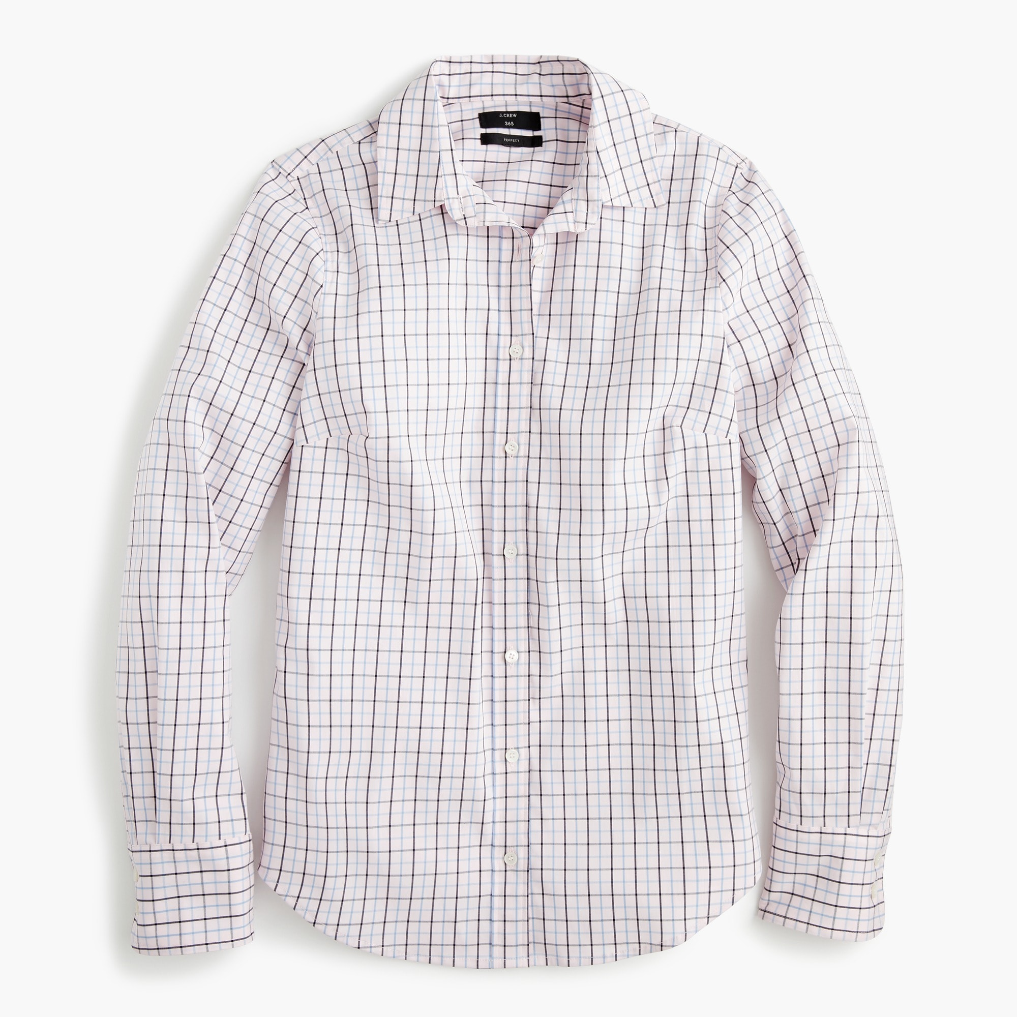 Tall slim stretch perfect shirt in meyer tattersall