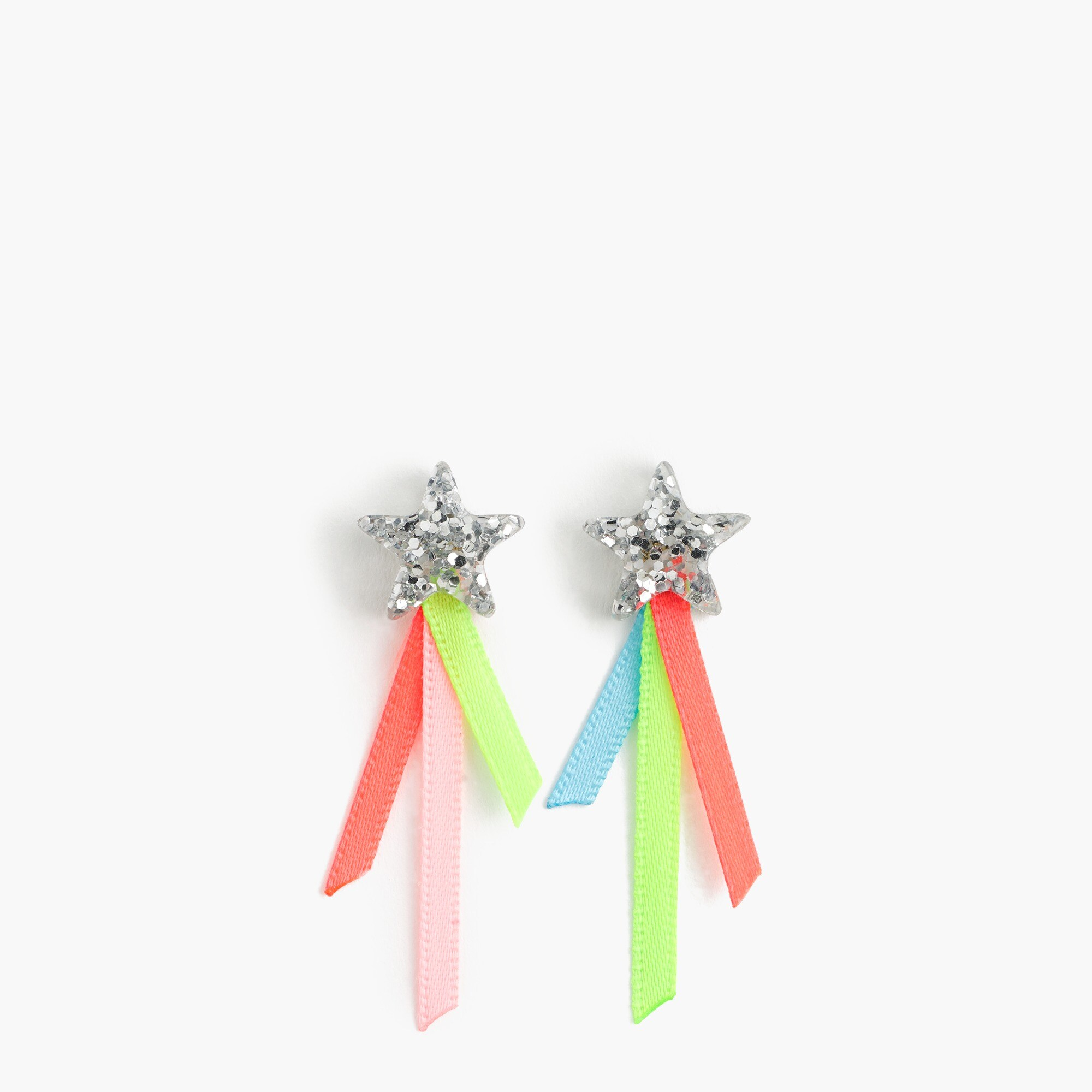 girls Girls' shooting star earrings