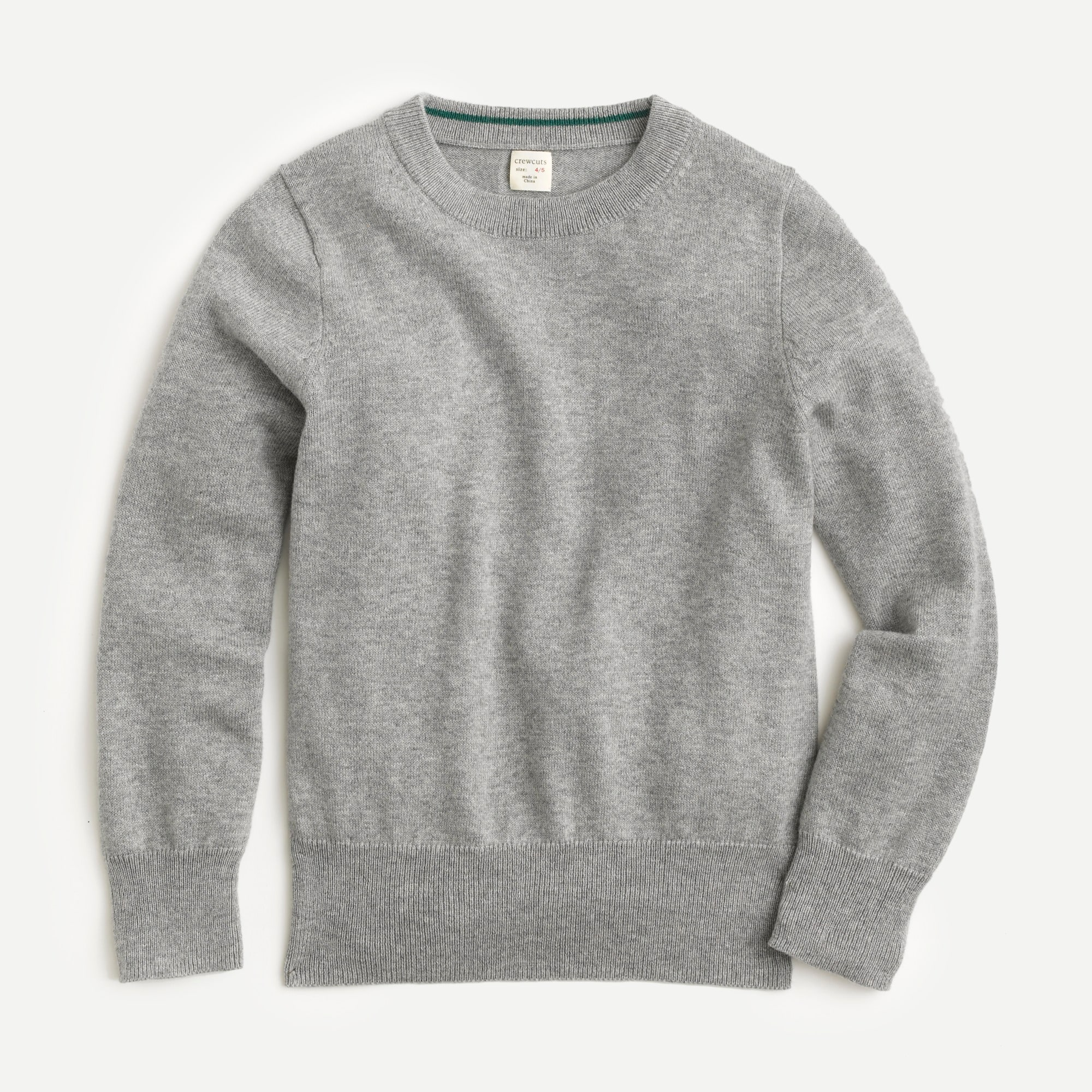 boys Boys' cotton-cashmere crewneck sweater