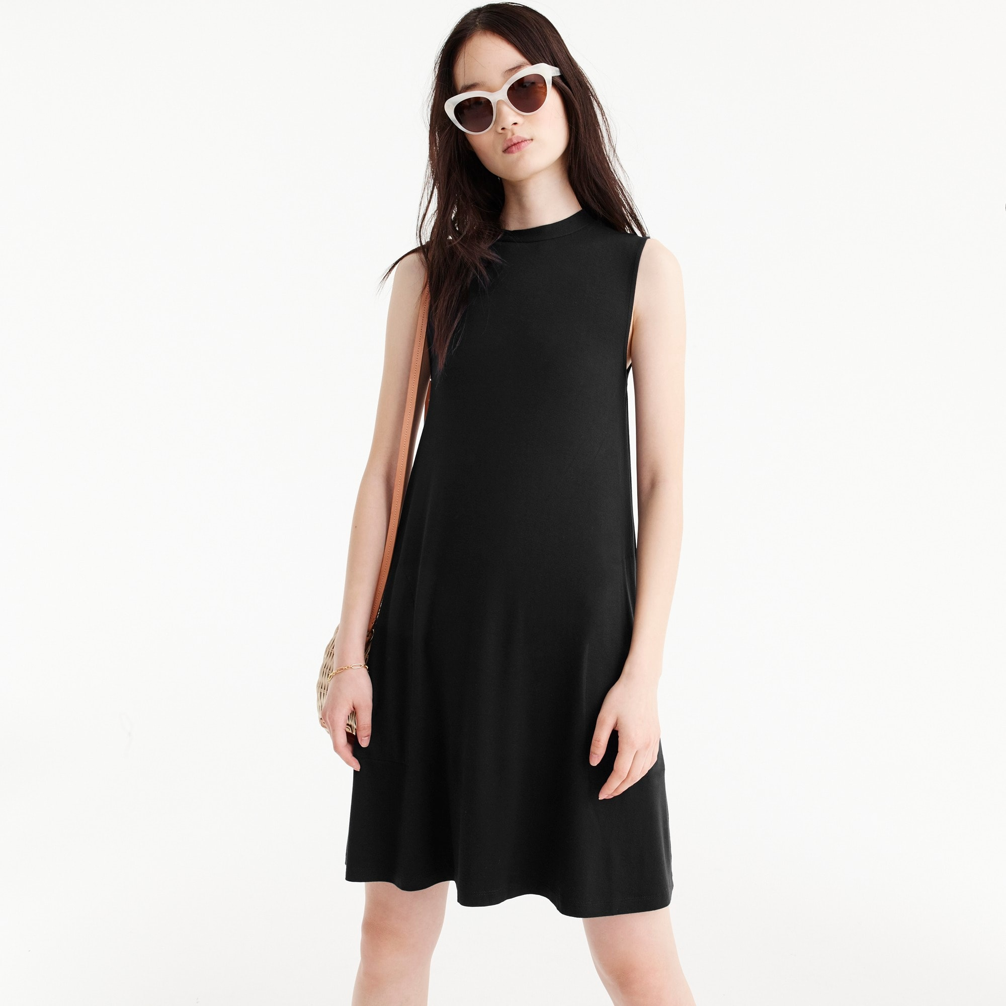 Swingy sleeveless dress