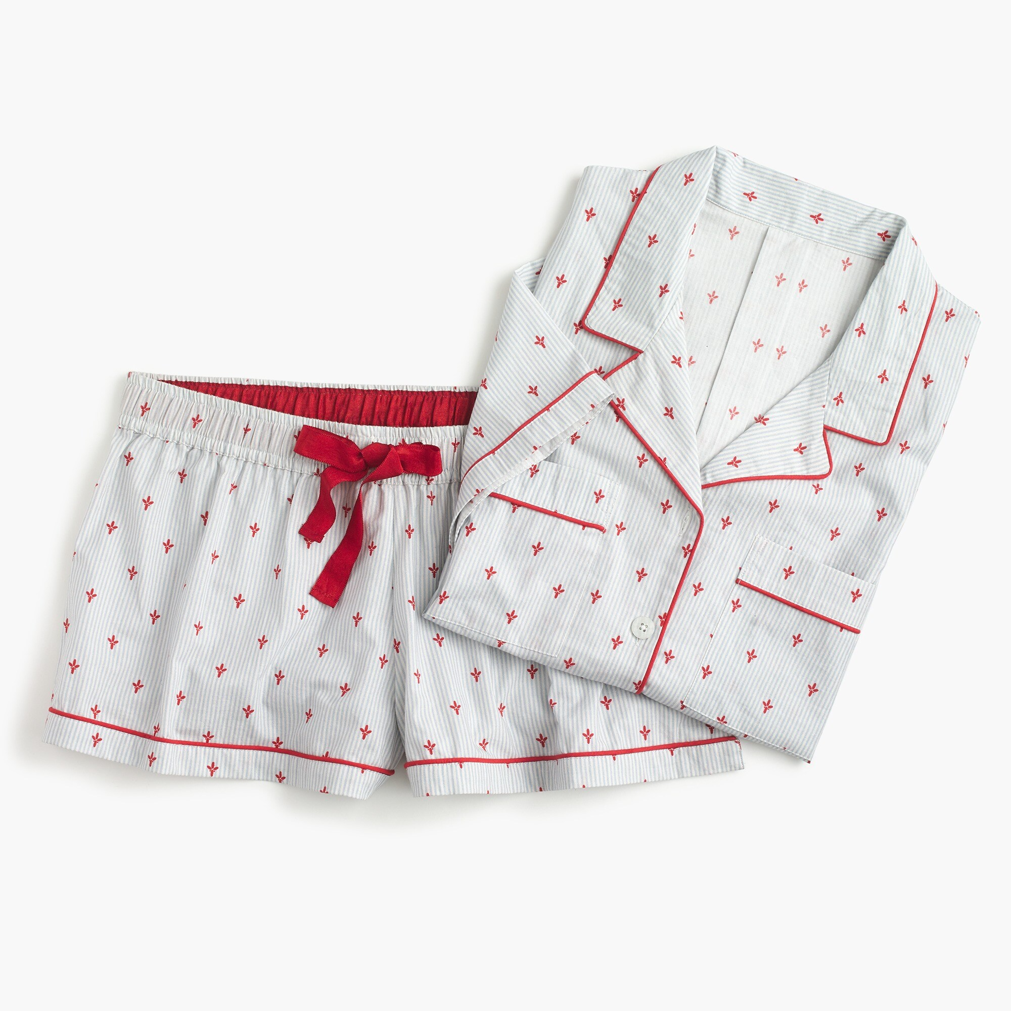 Image 1 for Pajama set in fleur-de-lis