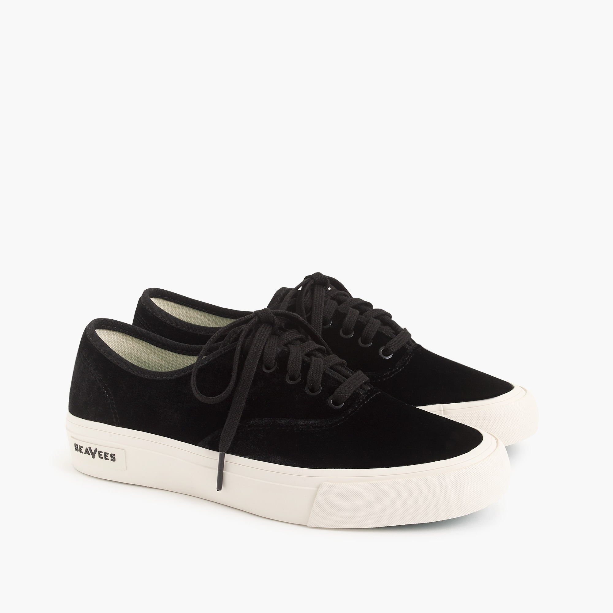 womens SeaVees® for J.Crew legend sneakers in velvet