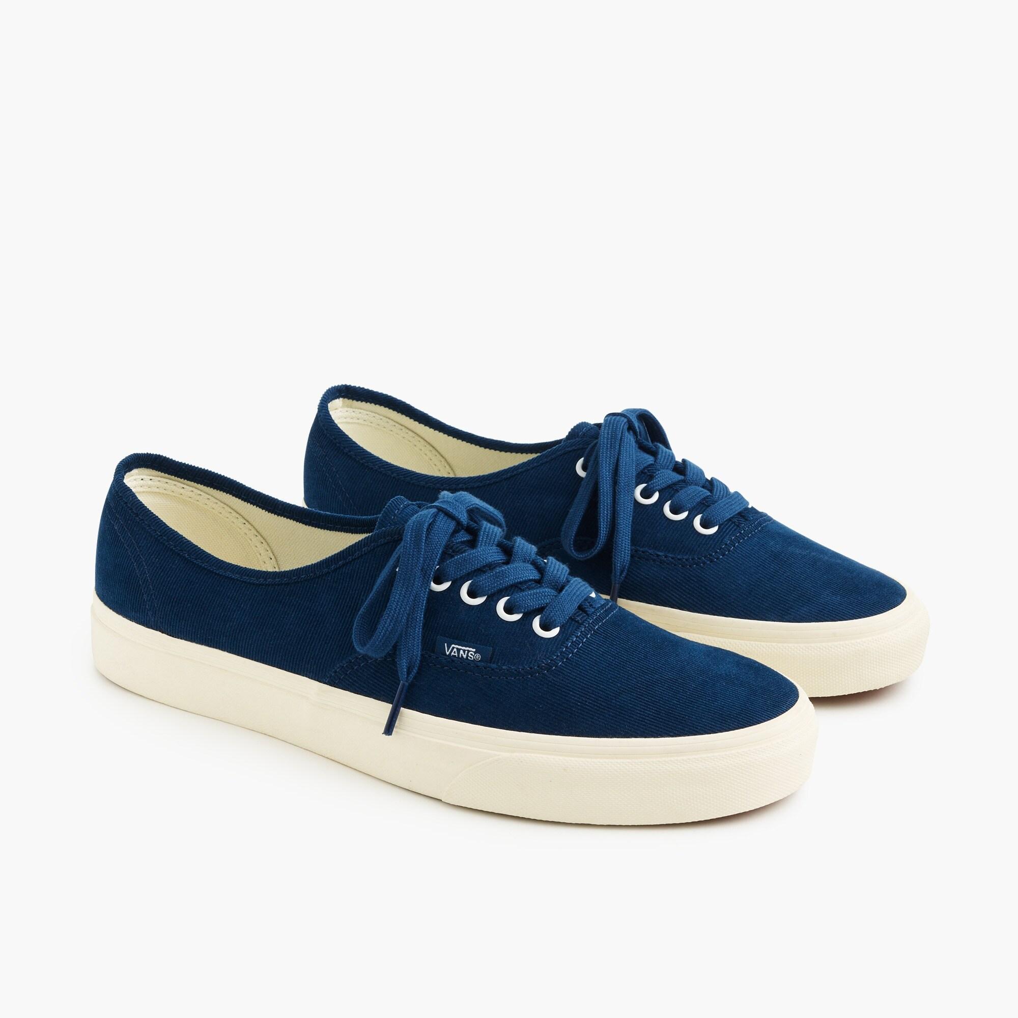 Vans® for J.Crew Authentic sneakers in Bedford cord