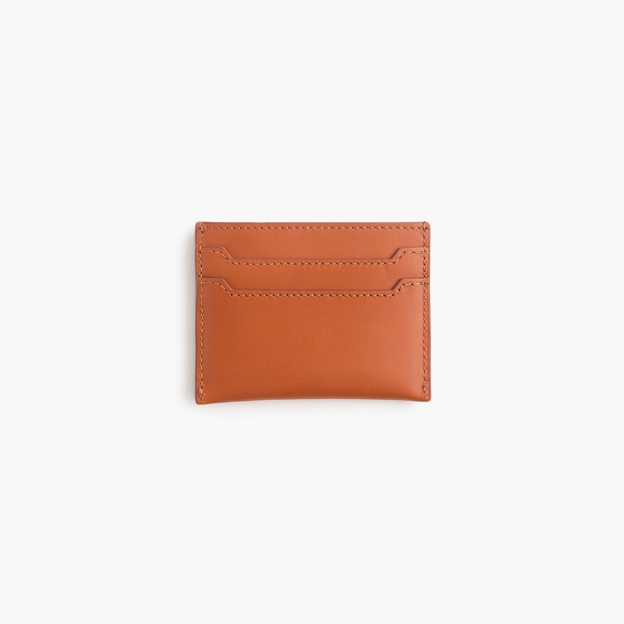 womens Italian leather card case