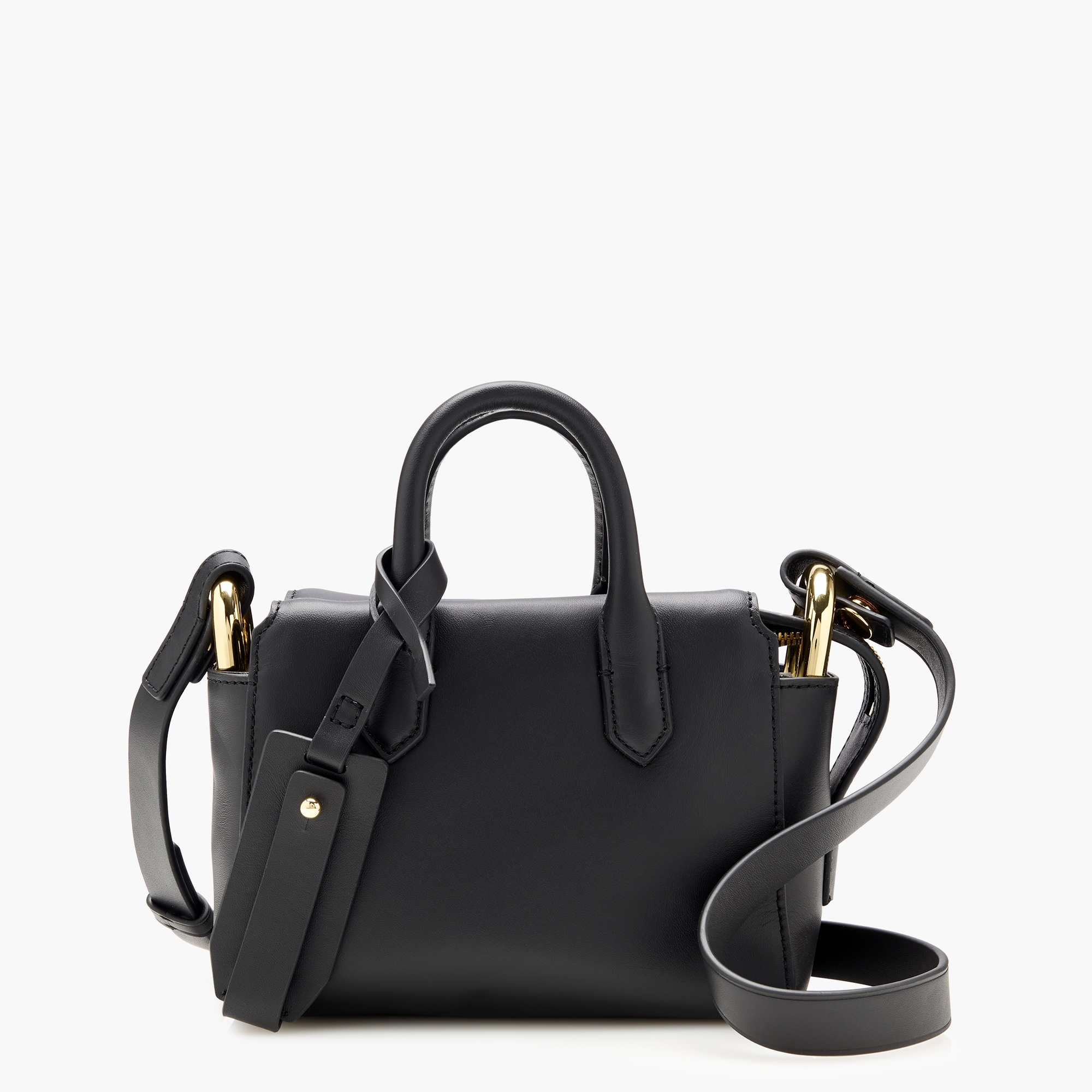 womens Harper mini satchel in Italian leather
