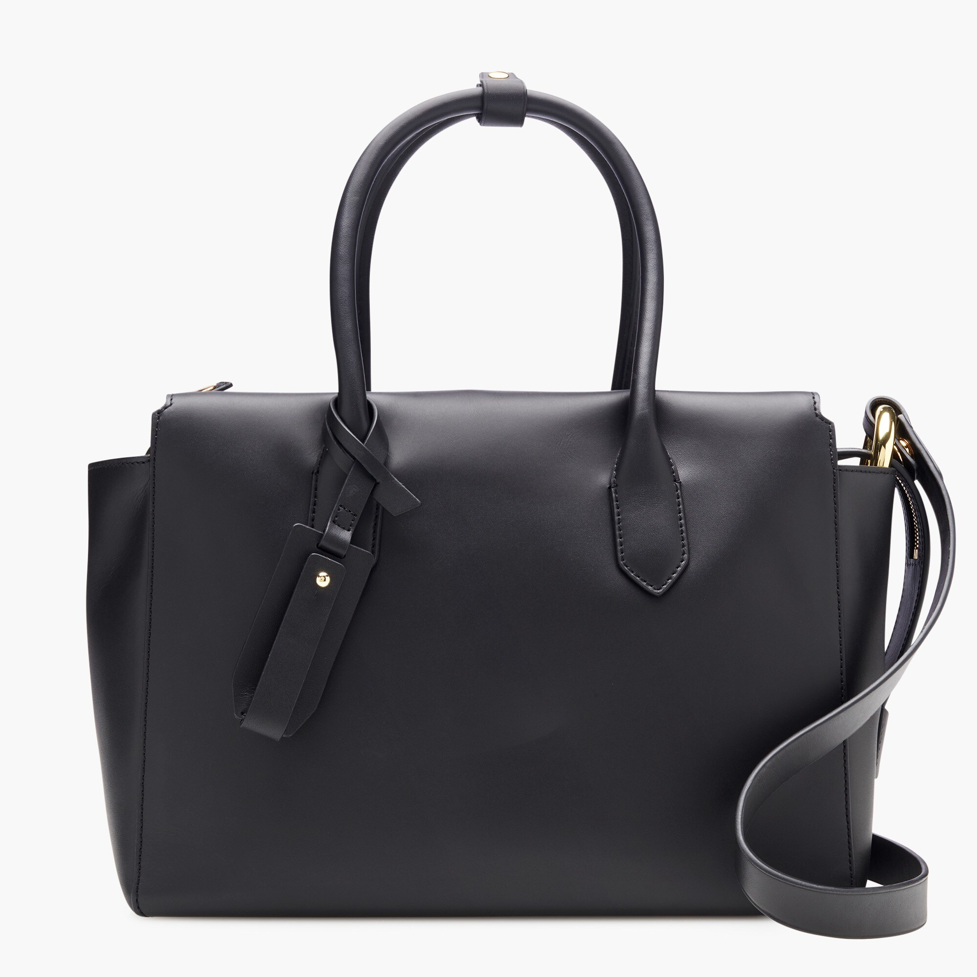 womens The Harper satchel in Italian leather