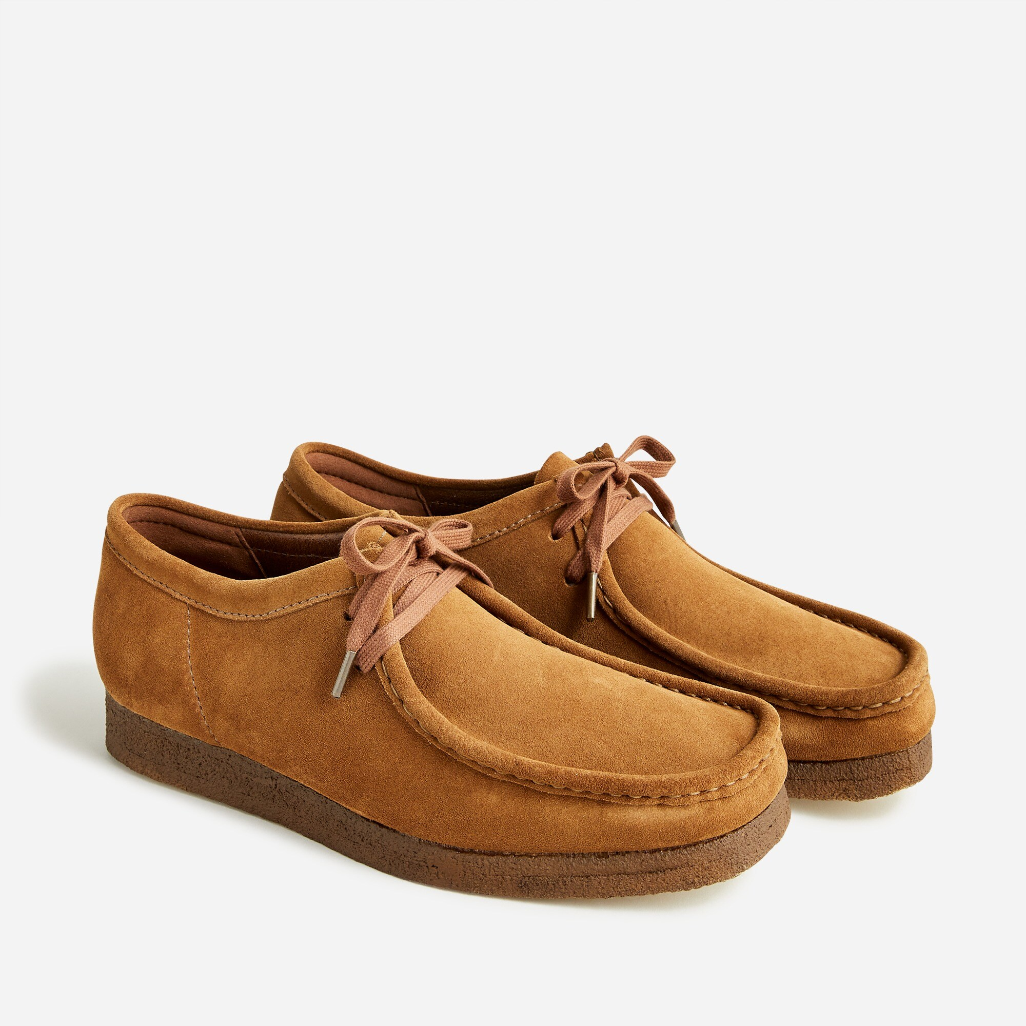 mens Clarks® Originals Wallabee® shoes in suede