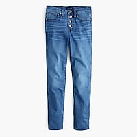 Vintage straight eco jean with button fly