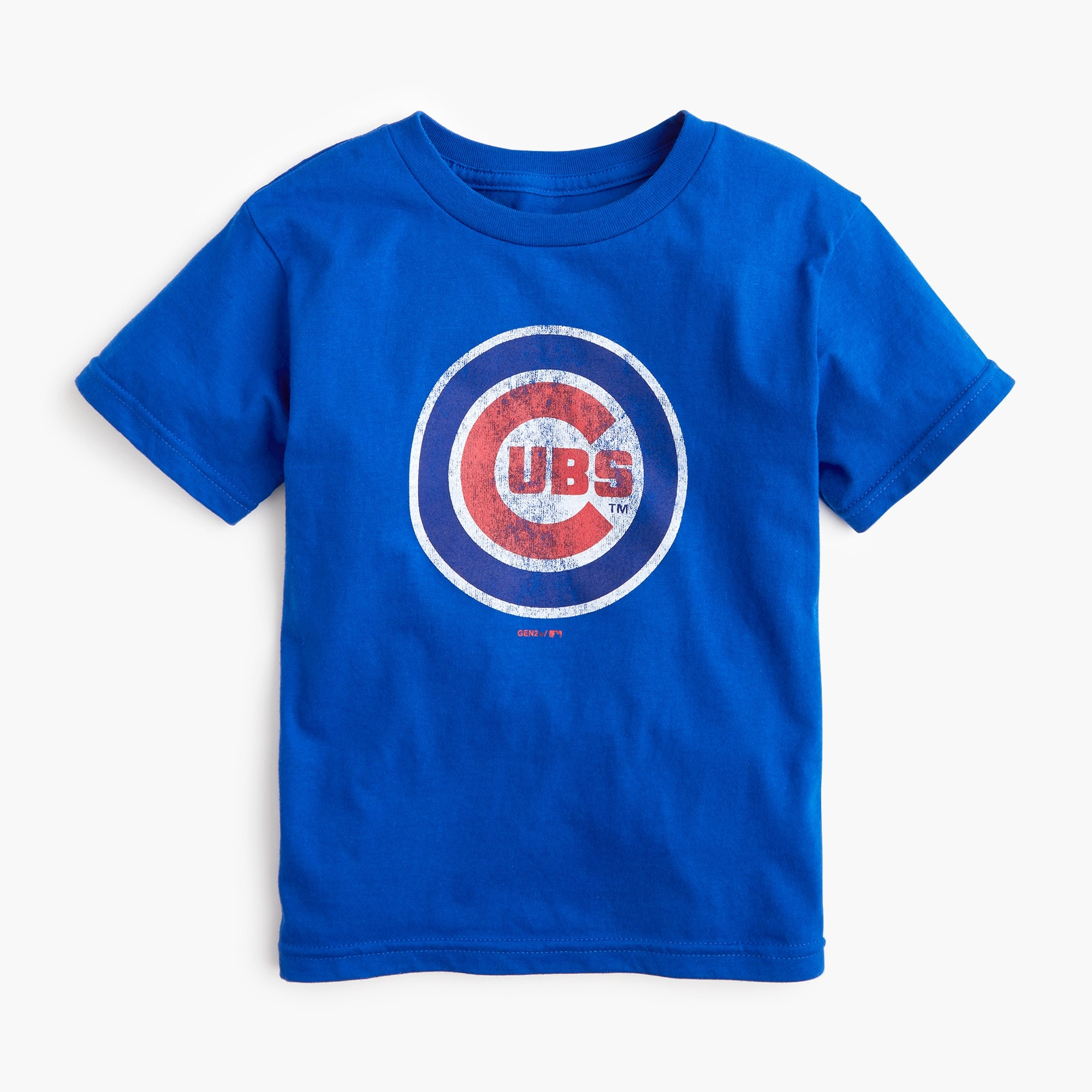 Image 1 for Kids' Chicago Cubs T-shirt in larger sizes
