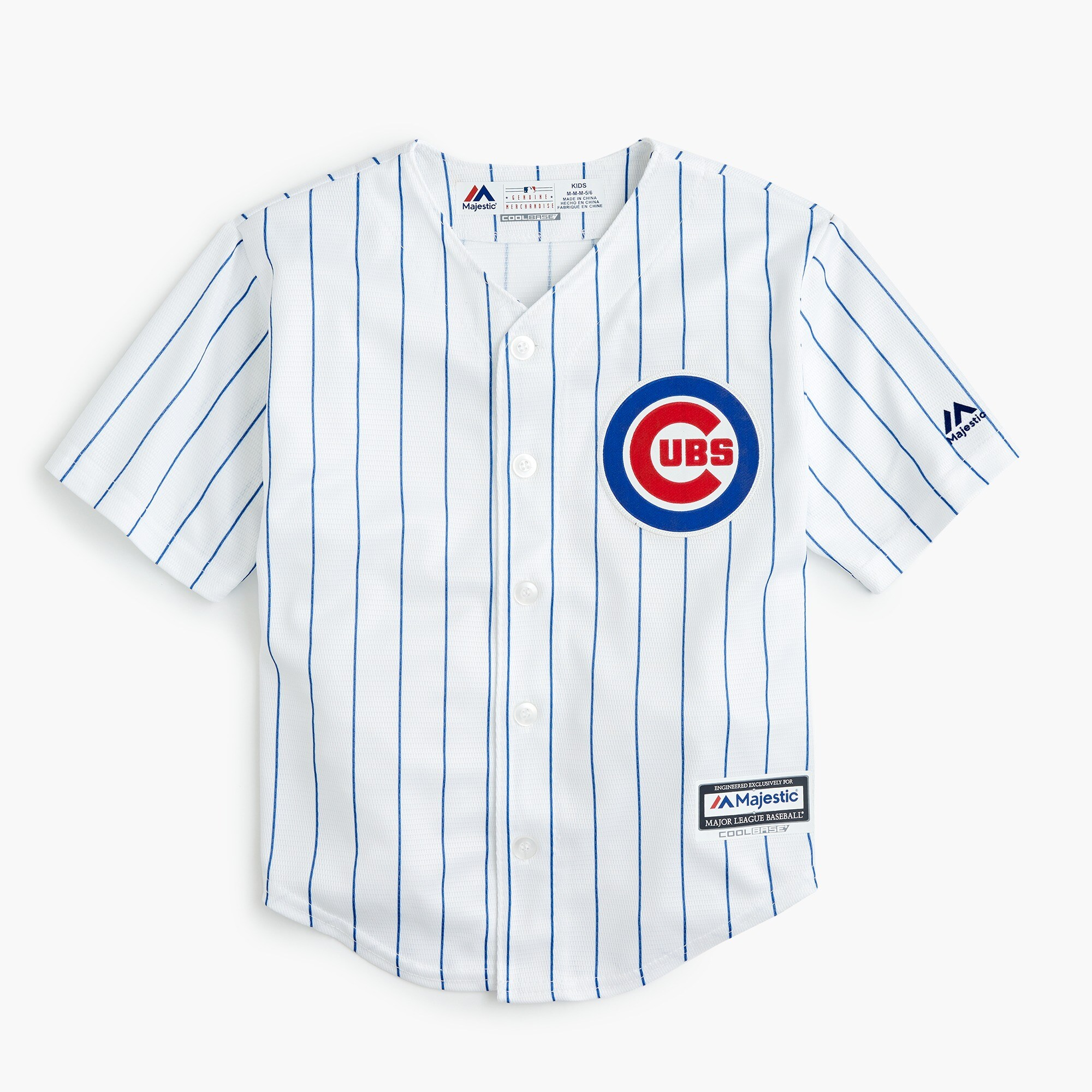boys' chicago cubs jersey in larger sizes - boys' tops