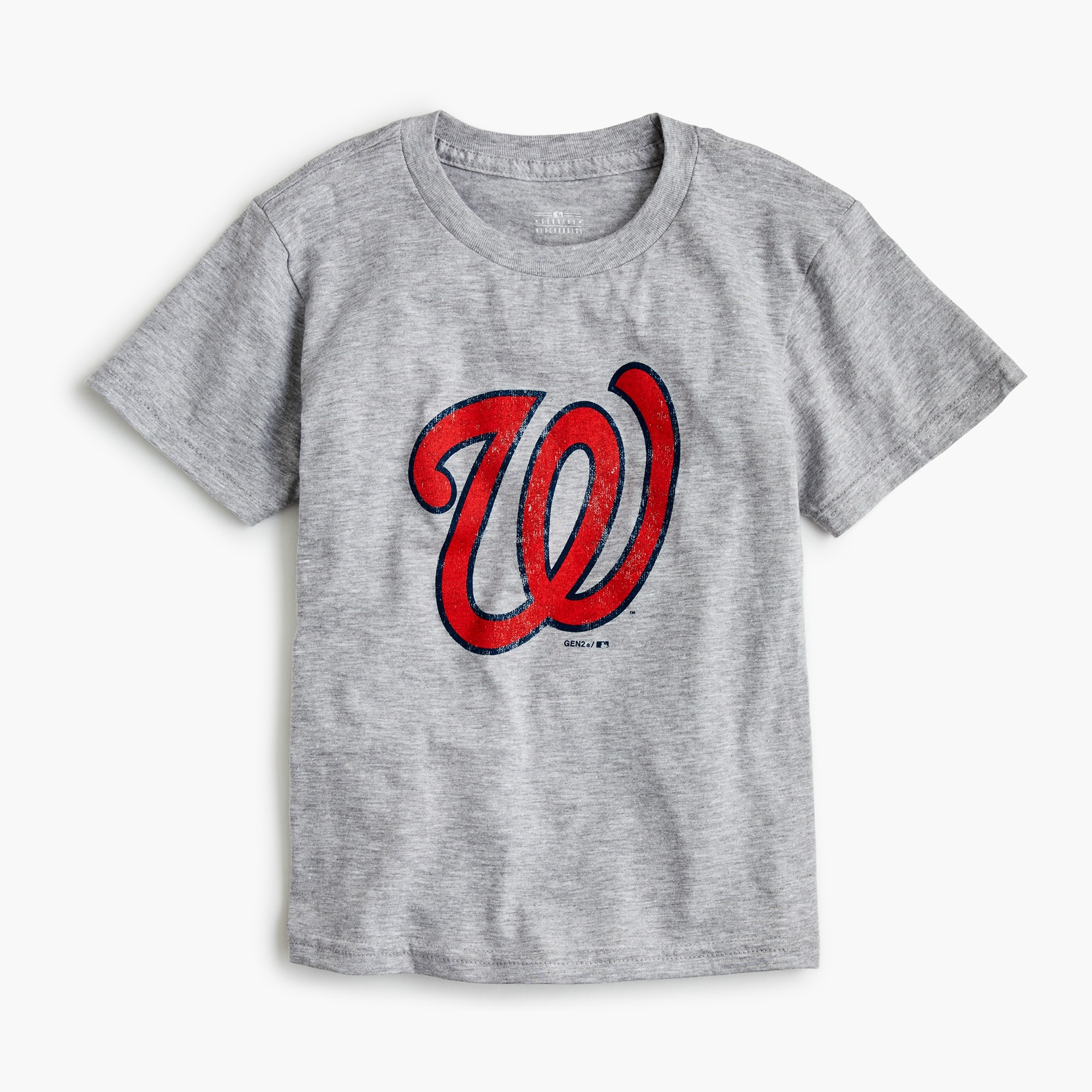 Kids' Washington Nationals T-shirt boy graphics shop c
