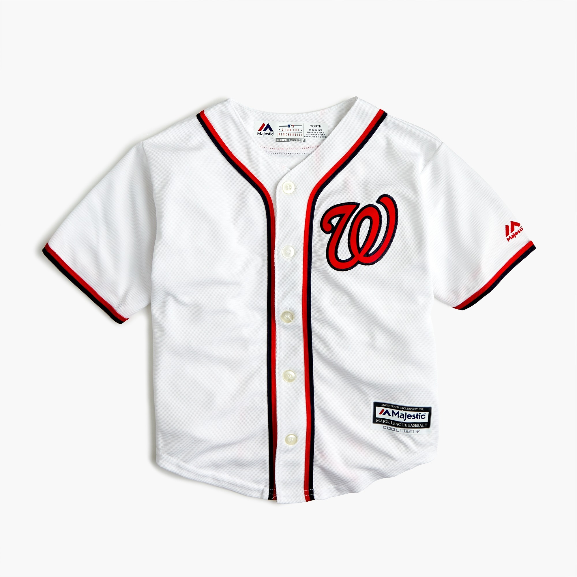 Image 1 for Kids' Washington Nationals jersey