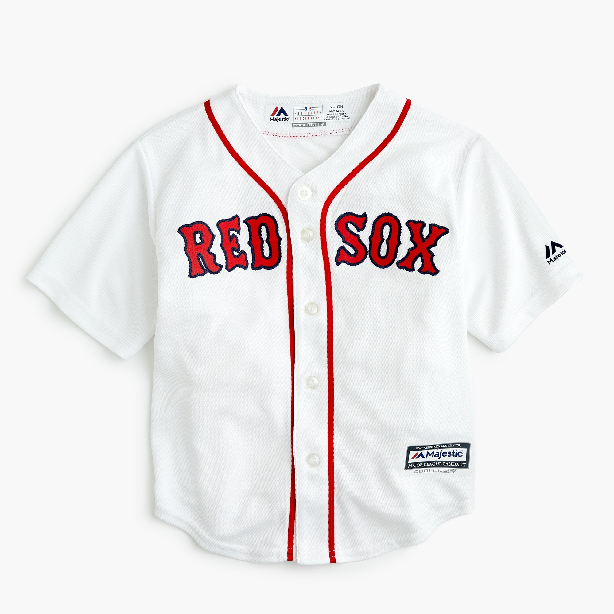 boys Kids' Boston Red Sox jersey