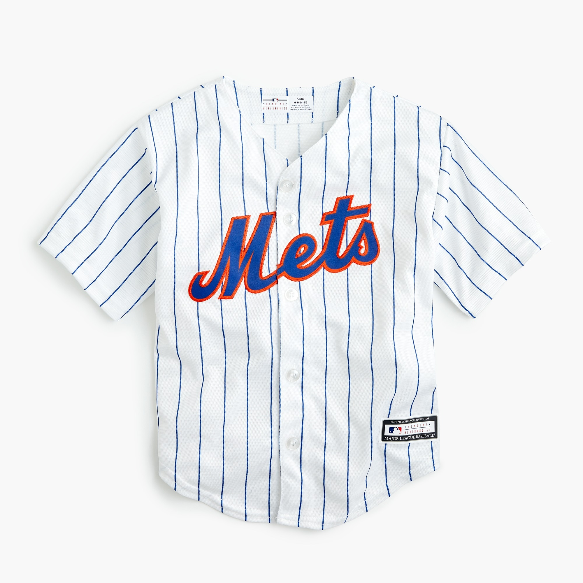 boys' new york mets jersey - boys' tops