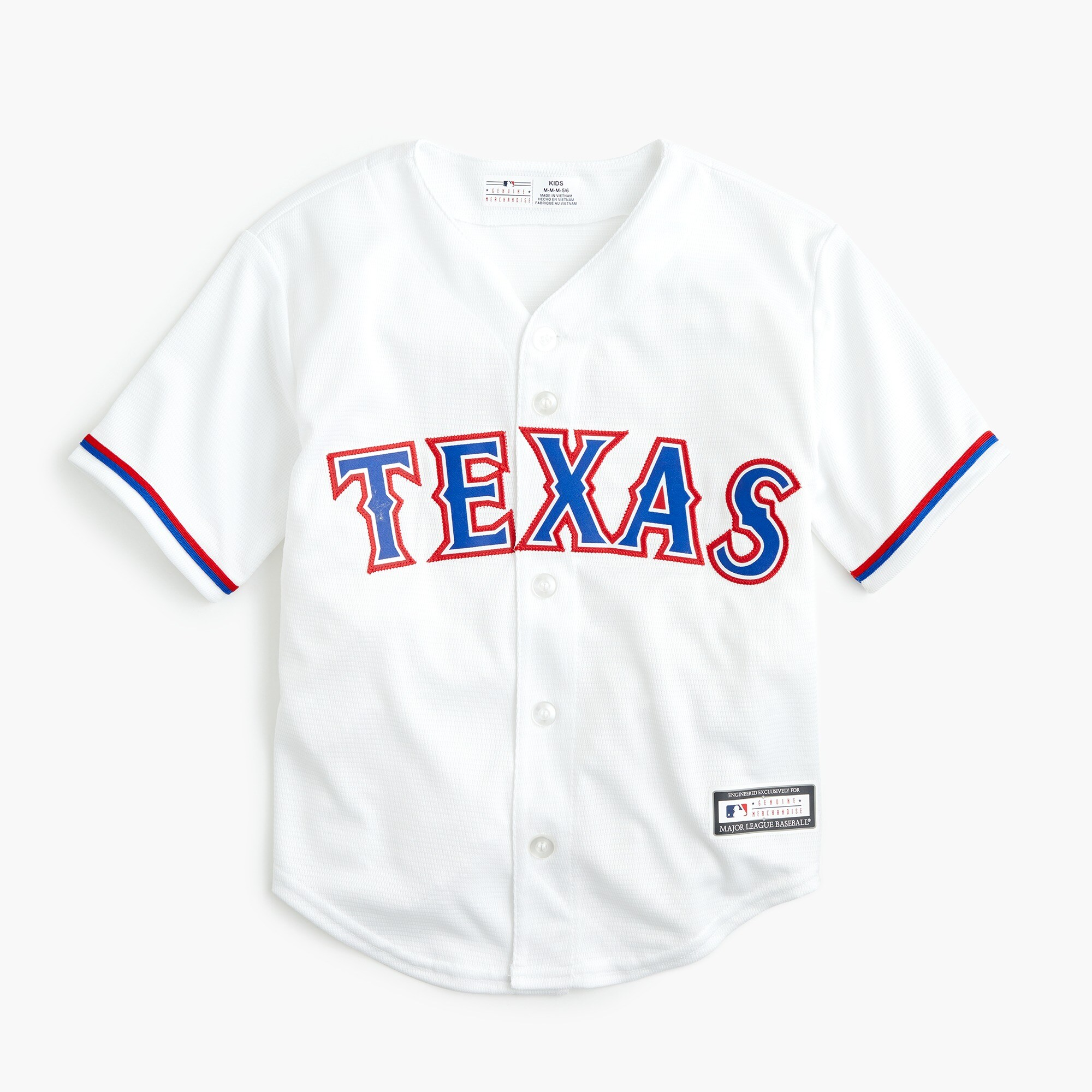 boys Kids' Texas Rangers jersey