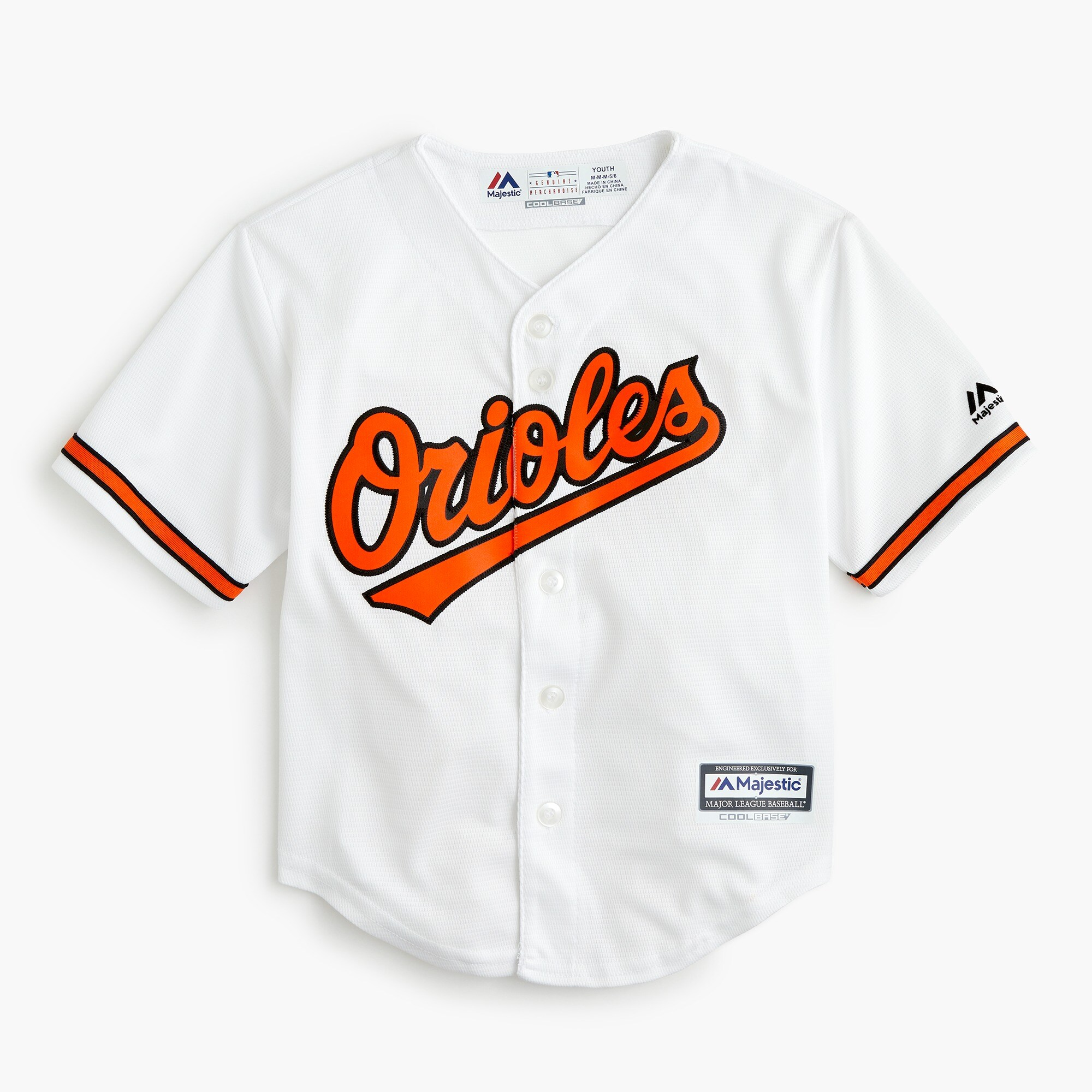 boys' baltimore orioles jersey - boys' tops