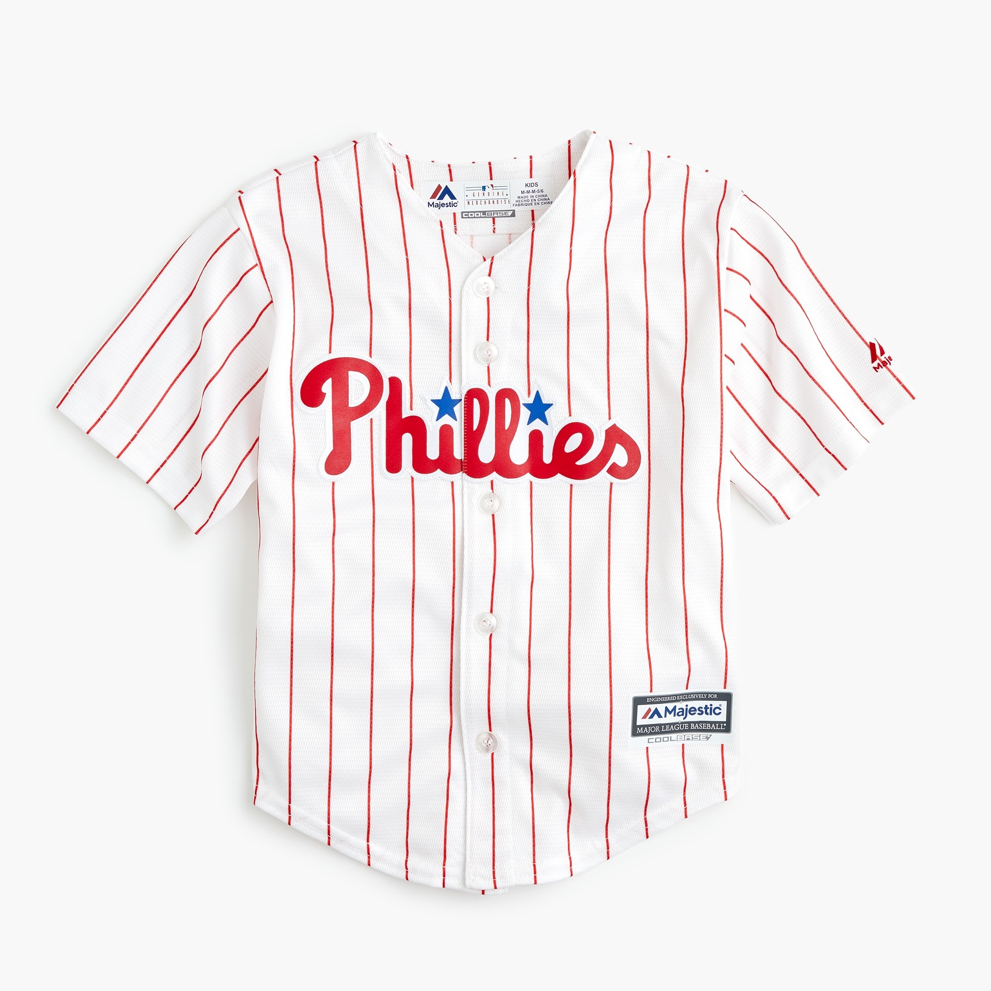 boys' philadelphia phillies jersey - boys' tops