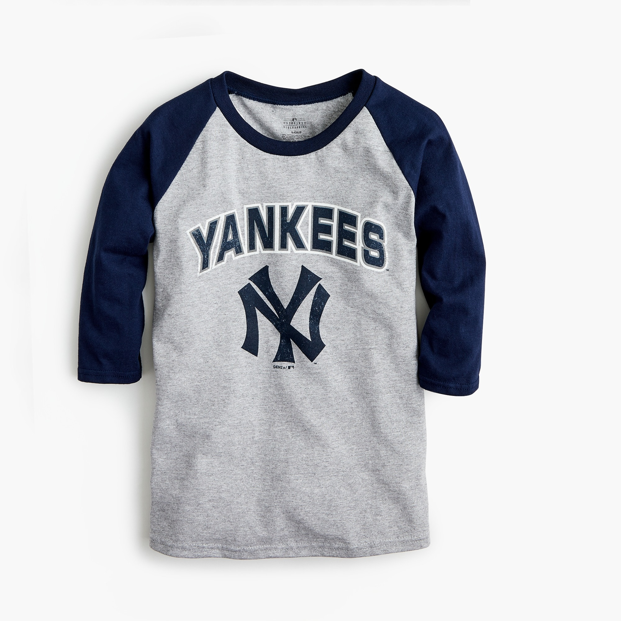 Kids' New York Yankees baseball T-shirt boy new arrivals c