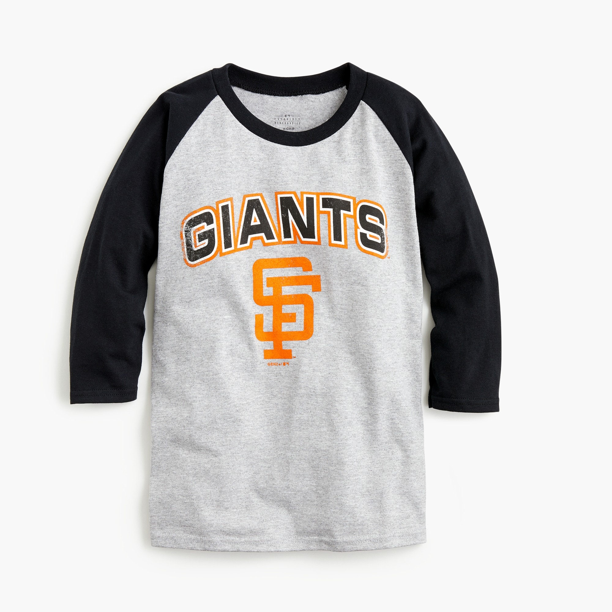 Kids' San Francisco Giants baseball T-shirt boy graphics shop c