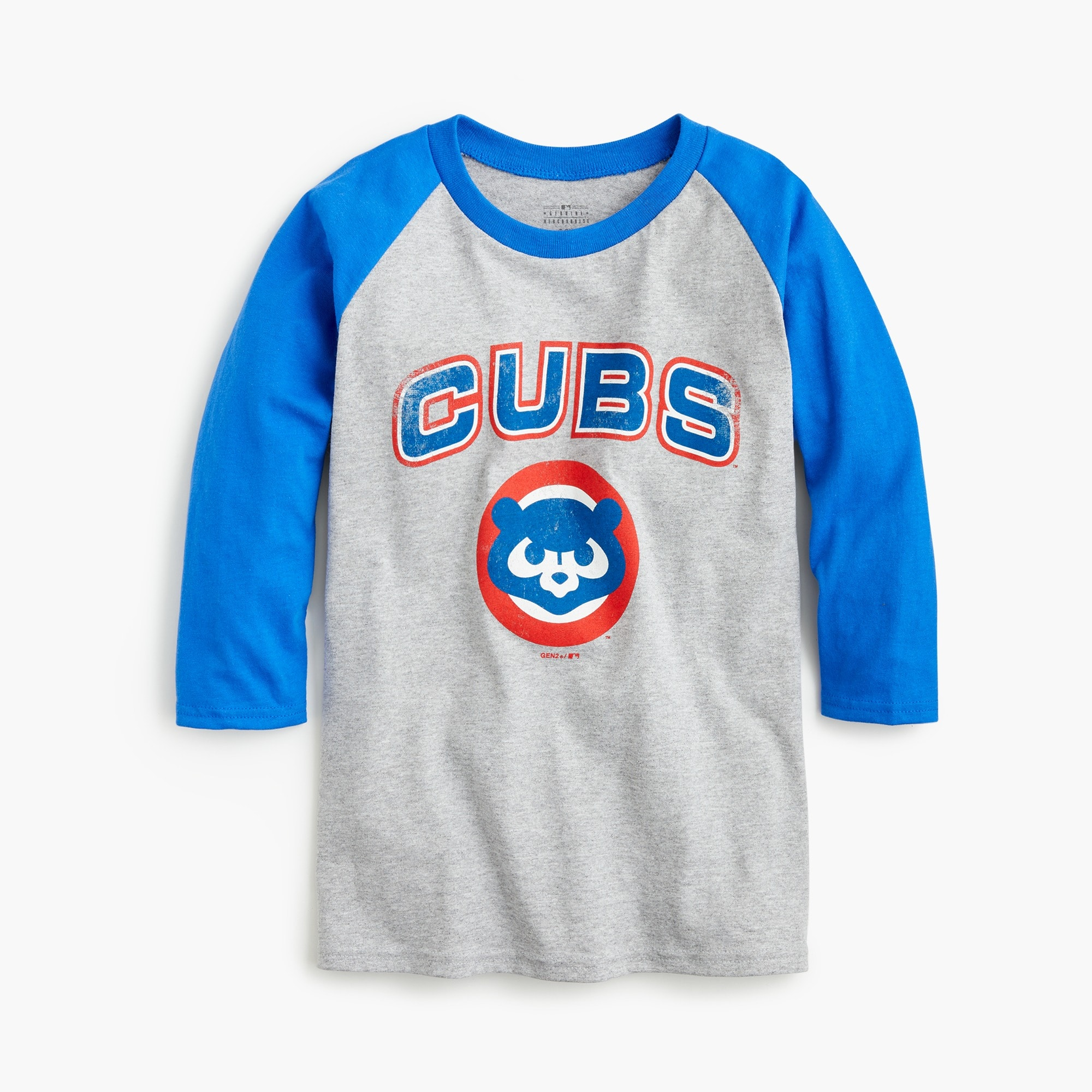 Kids' Chicago Cubs baseball T-shirt boy new arrivals c