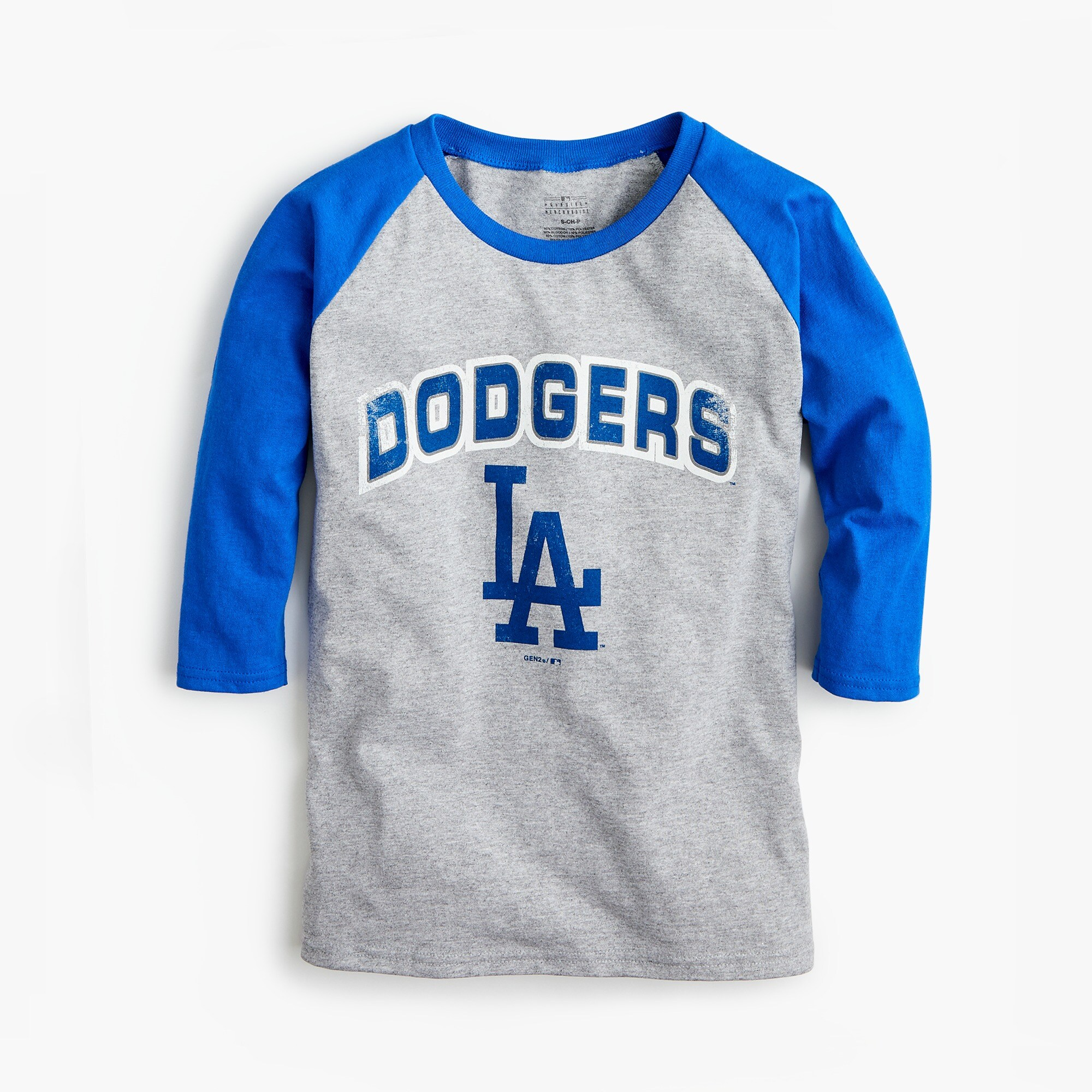 Kids' Los Angeles Dodgers baseball T-shirt boy new arrivals c