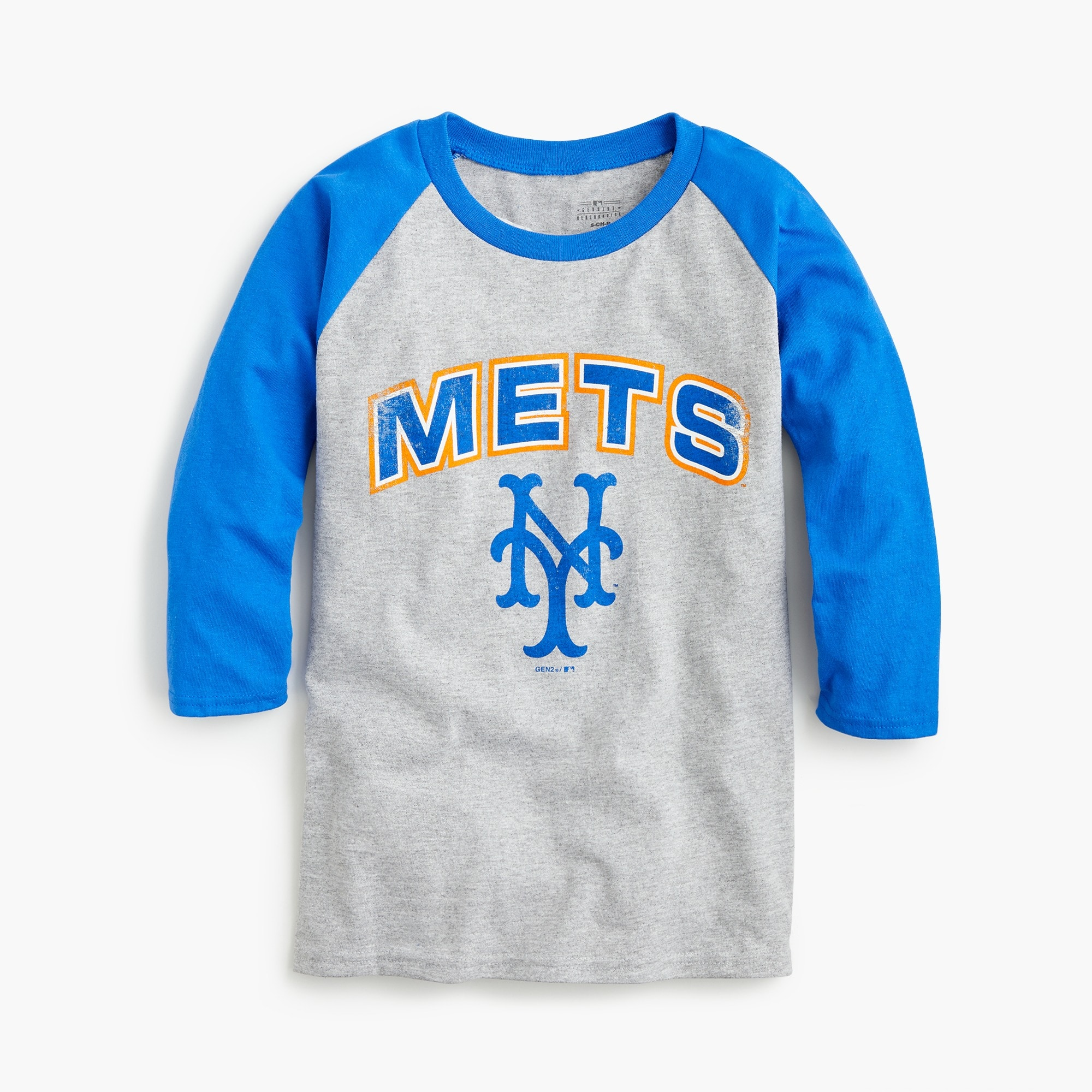 Kids' New York Mets baseball T-shirt boy graphics shop c