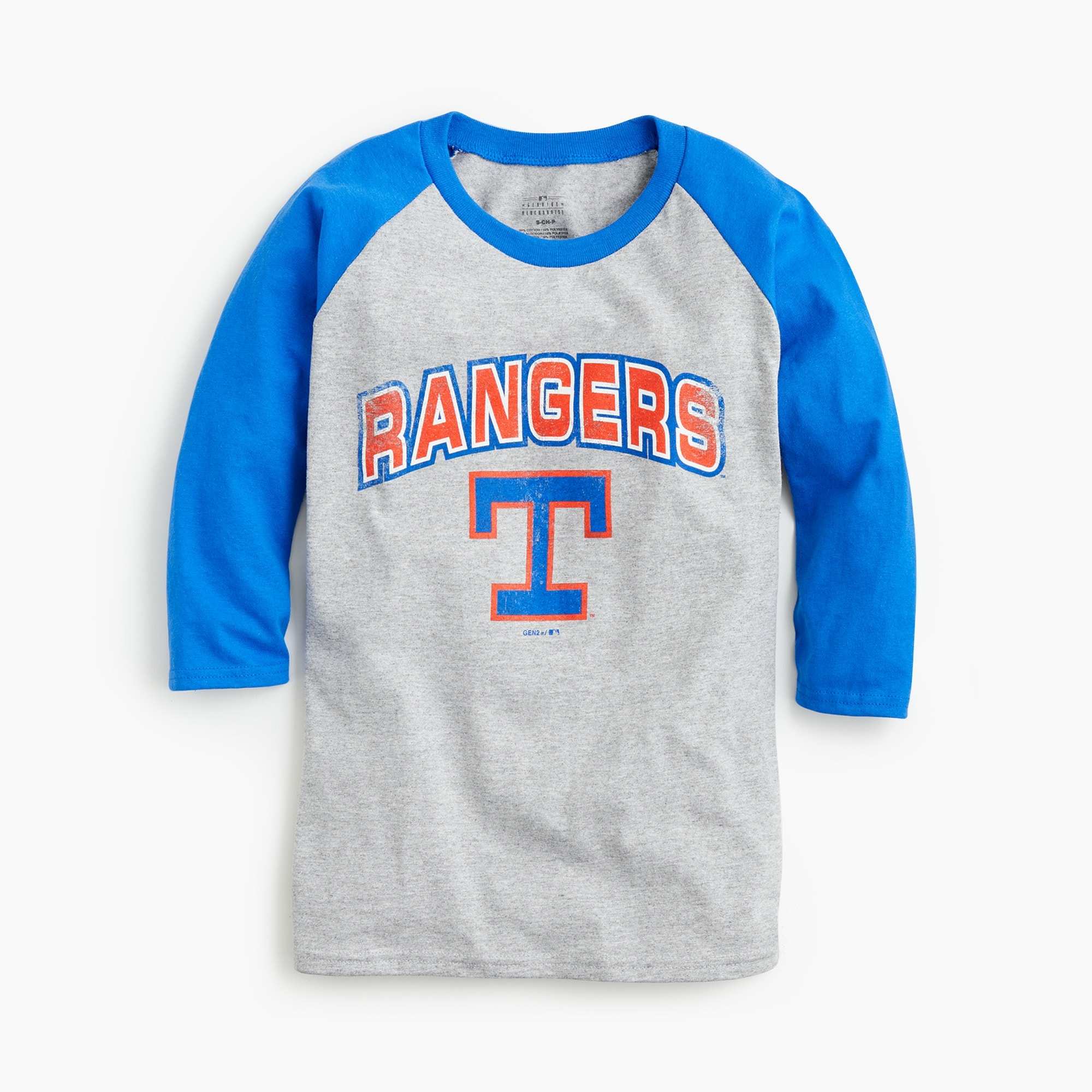 Kids' Texas Rangers baseball T-shirt boy new arrivals c