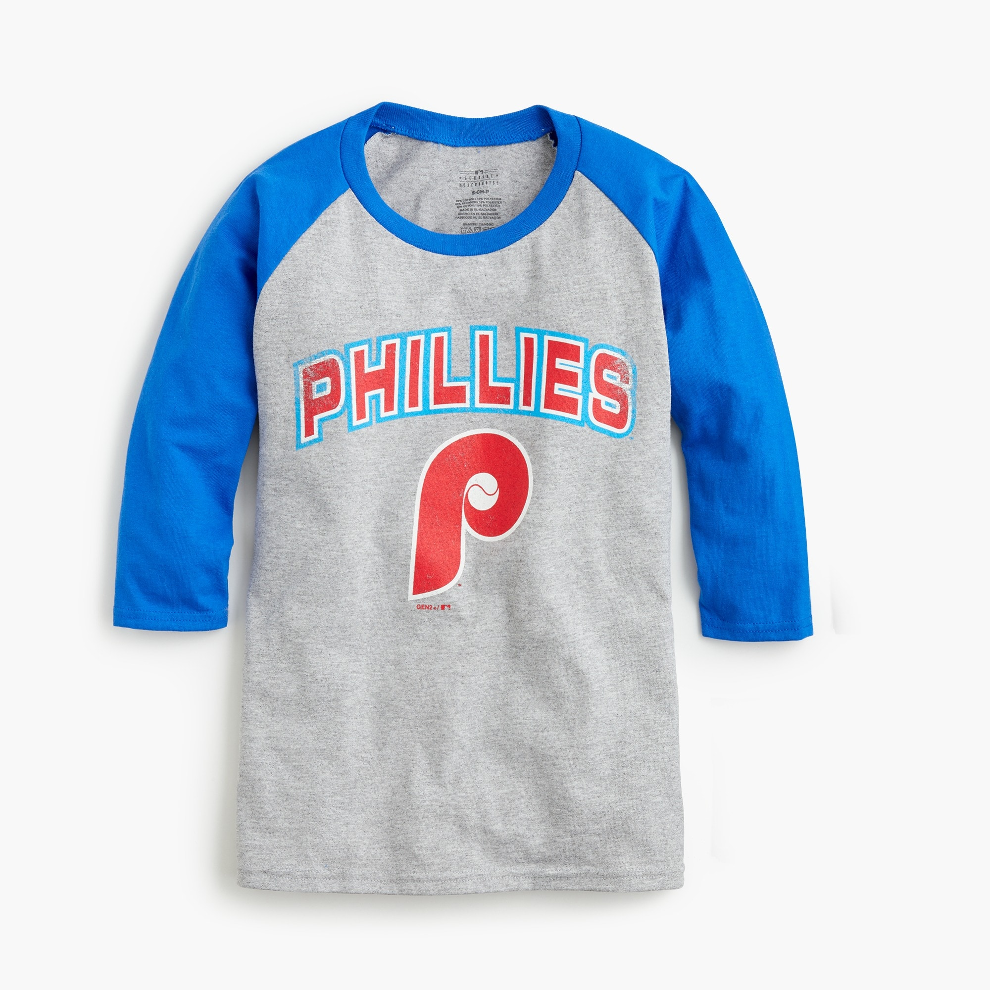 Kids' Philadelphia Phillies baseball T-shirt boy new arrivals c