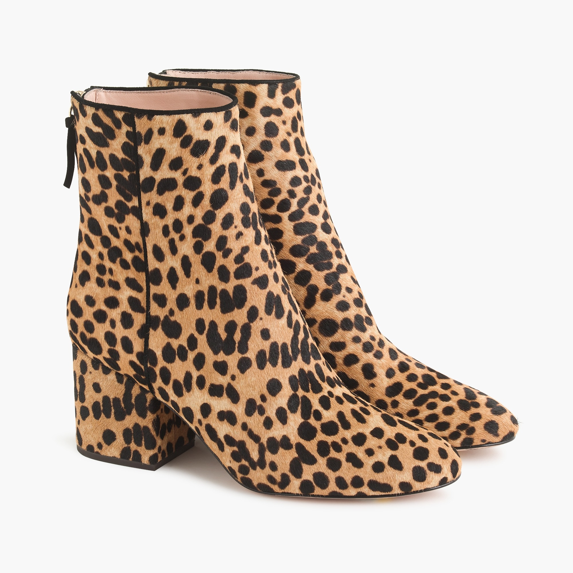 Image 5 for Sadie ankle boots in leopard calf hair