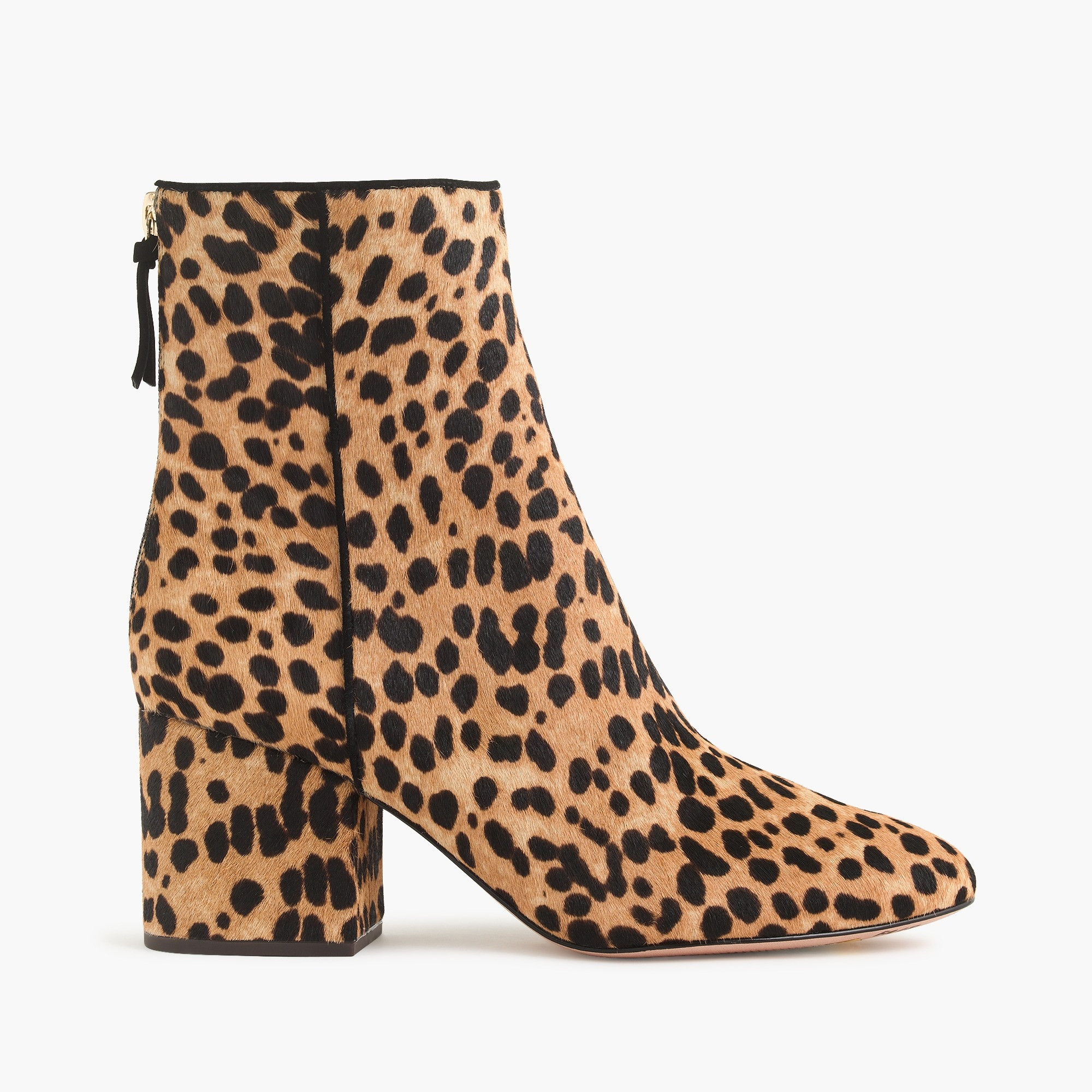 Image 2 for Sadie ankle boots in leopard calf hair