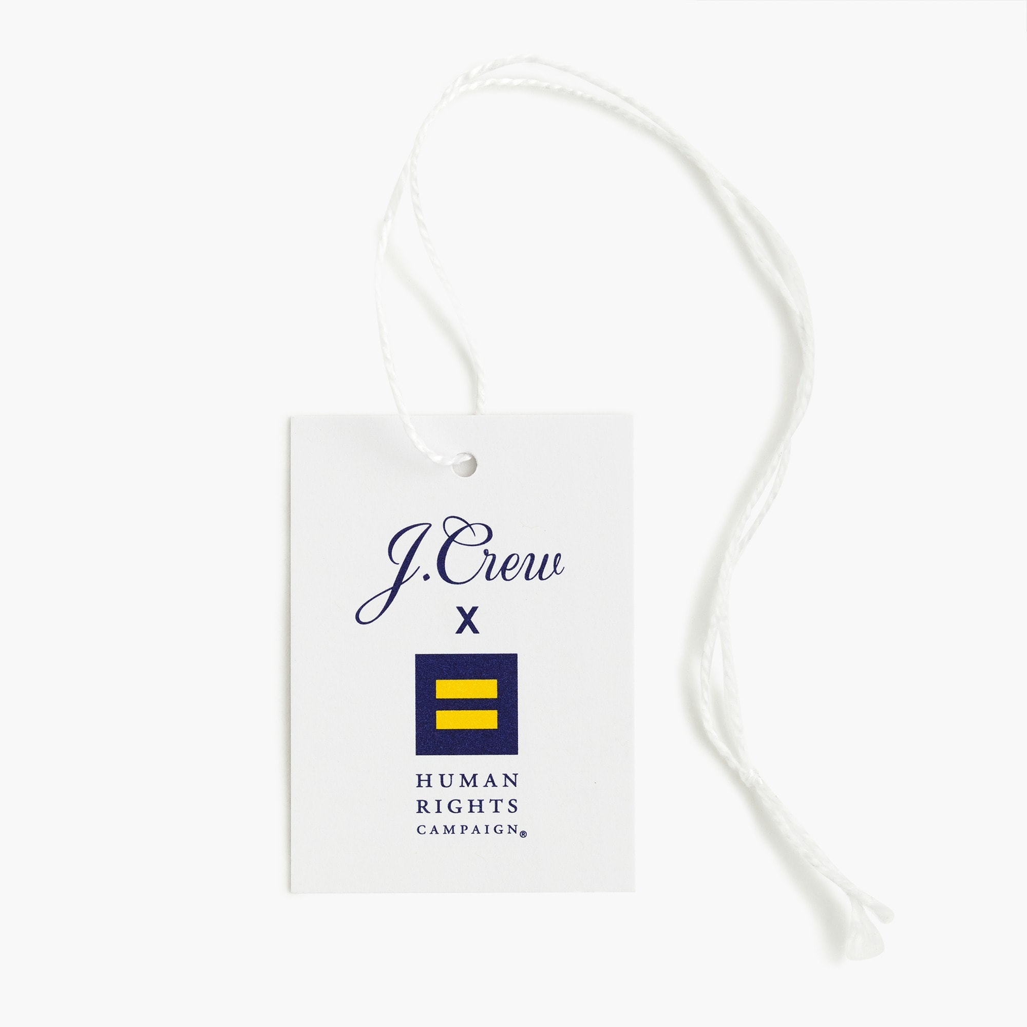 J.Crew X Human Rights Campaign Pride flag socks