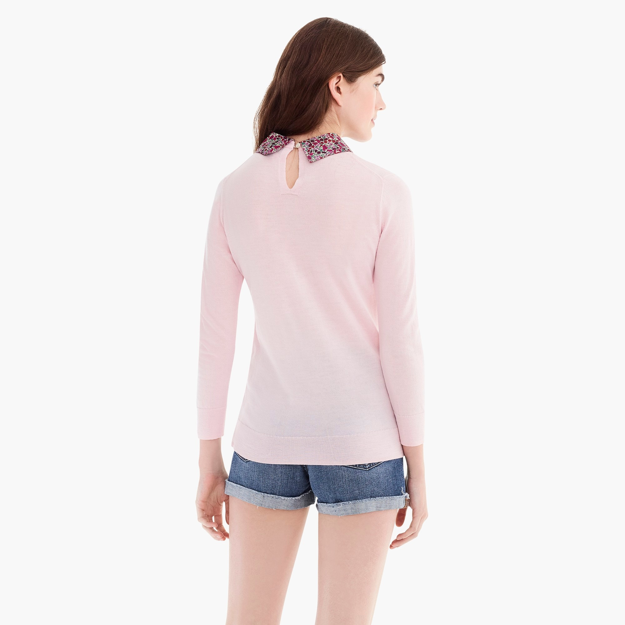 Image 6 for Liberty® collared Tippi sweater